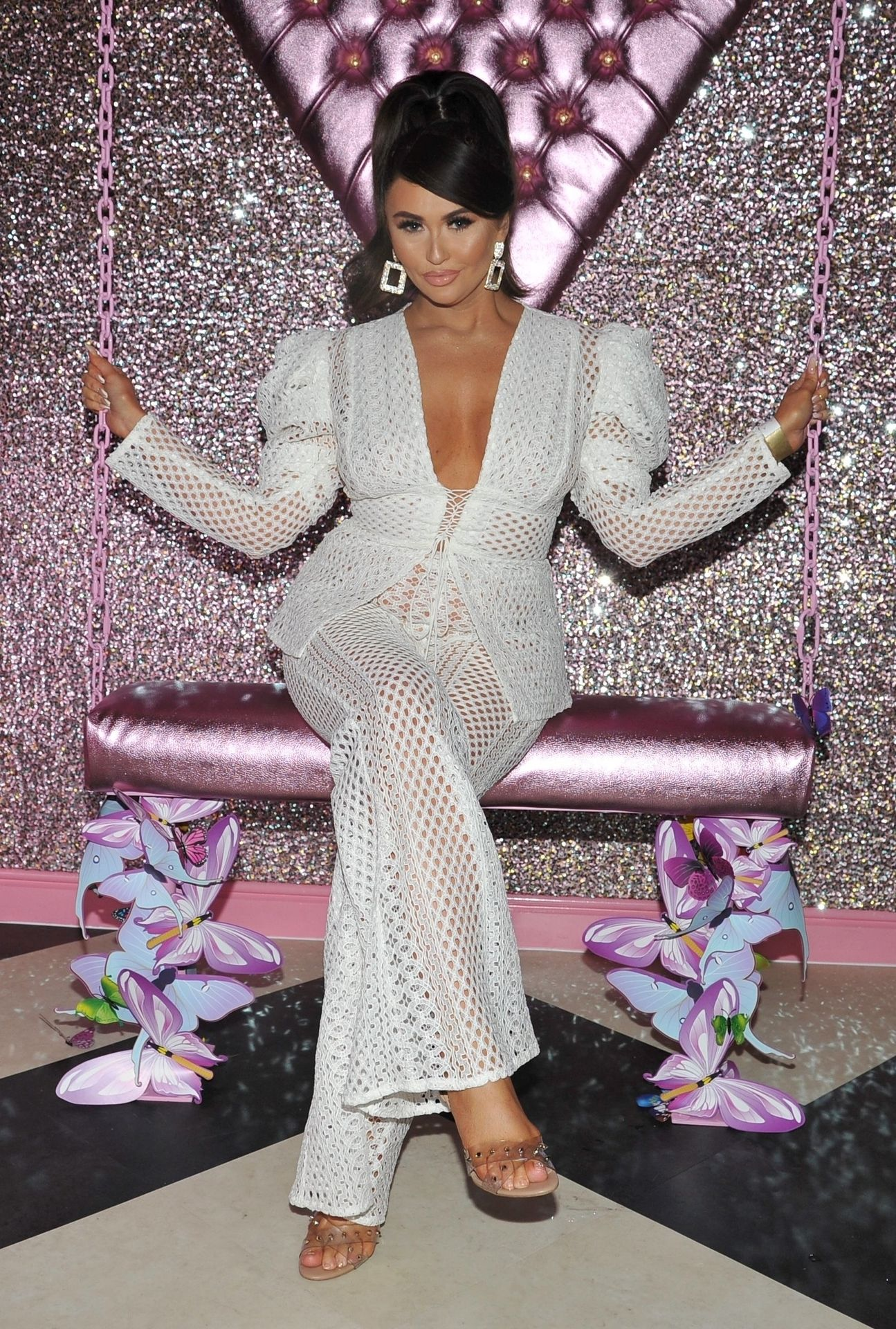 Charlotte Dawson Shows Her Boobs At Avenue Nightclub Launch Party 0001