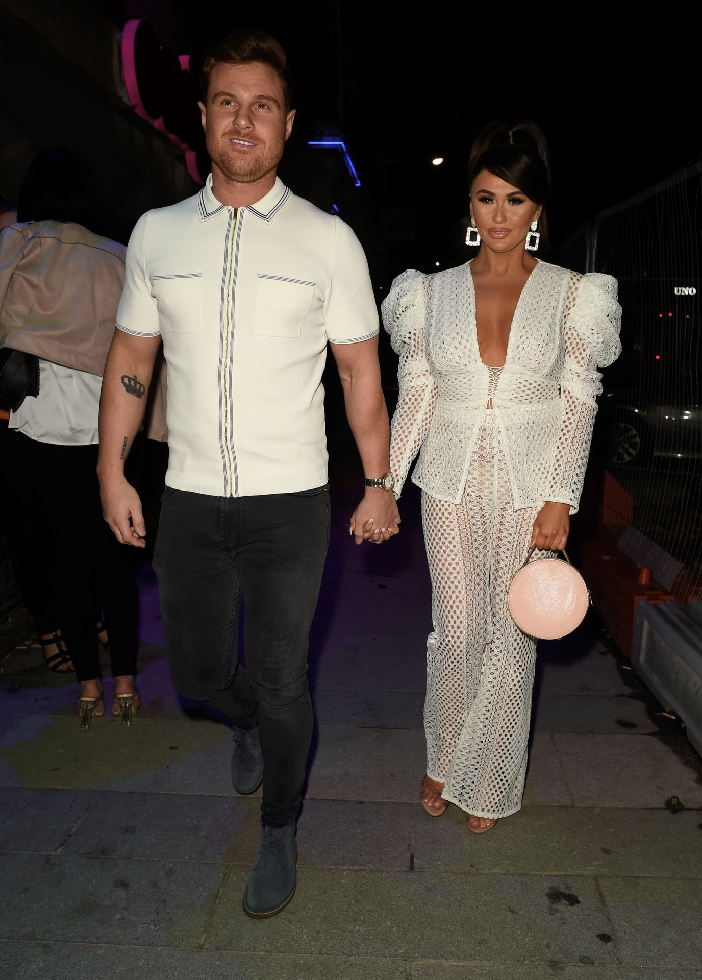 Charlotte Dawson Shows Her Boobs At Avenue Nightclub Launch Party 0018