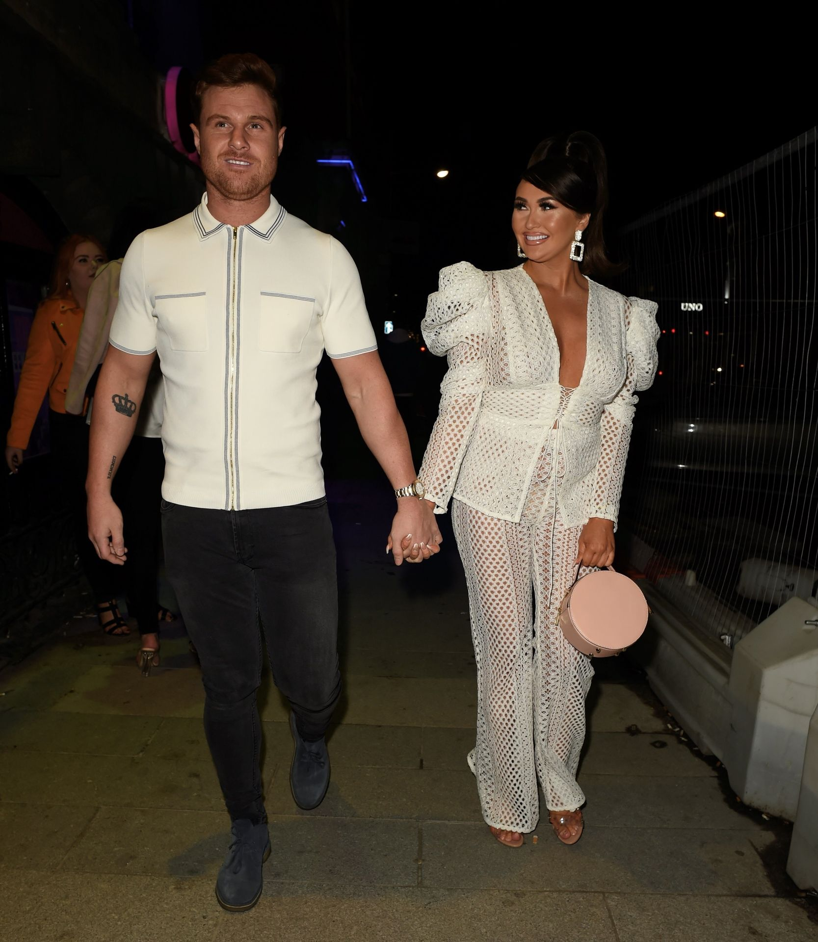 Charlotte Dawson Shows Her Boobs At Avenue Nightclub Launch Party 0019