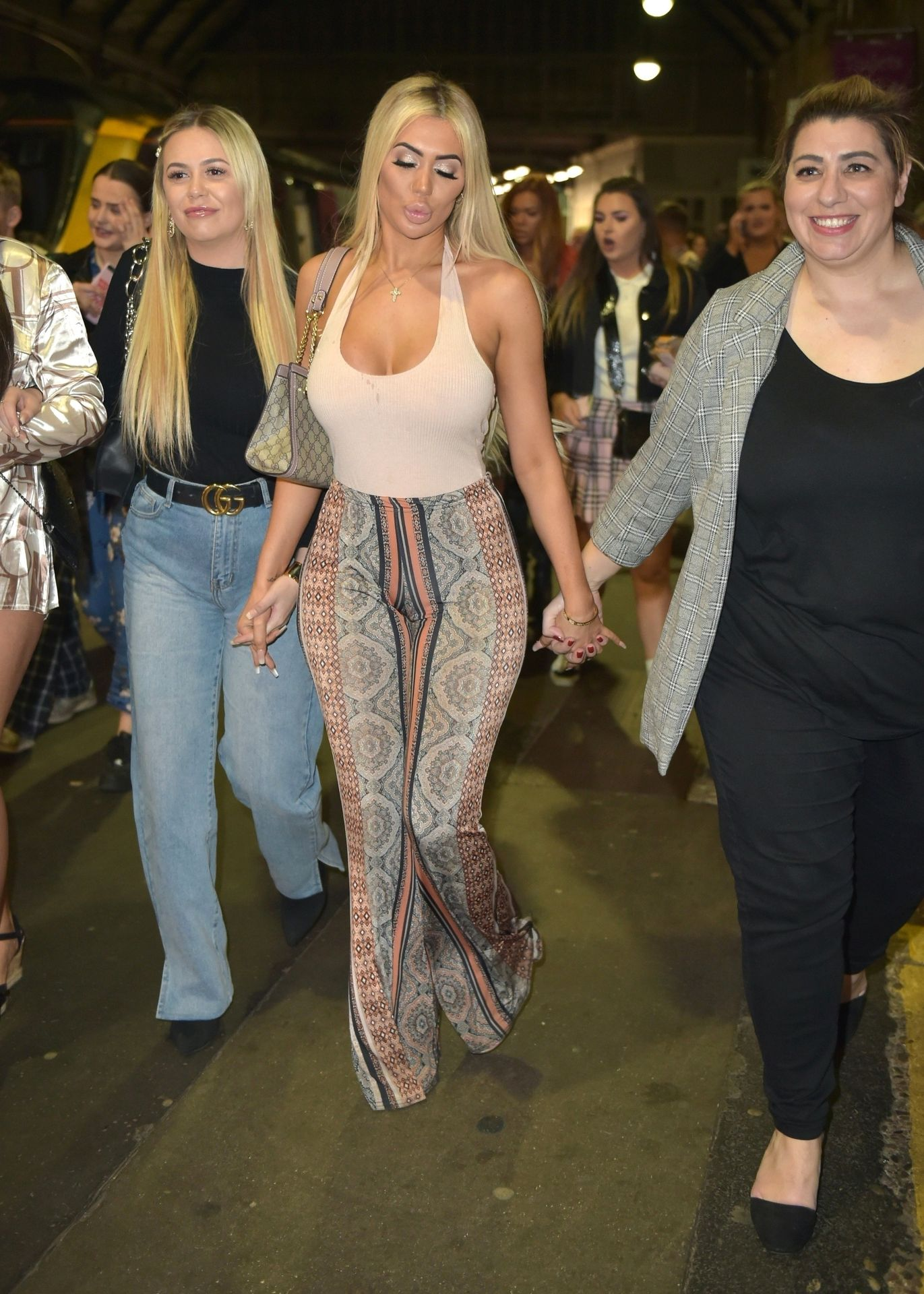 Chloe Ferry Hits The Toon With Her Mum 0005