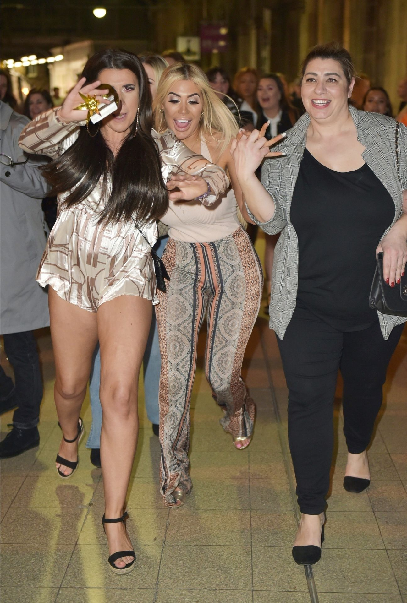 Chloe Ferry Hits The Toon With Her Mum 0010