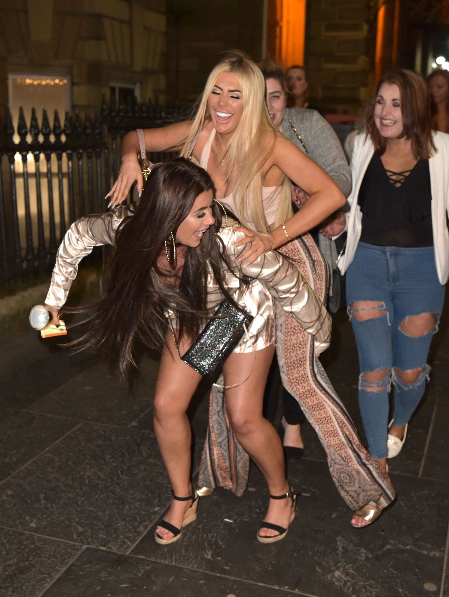 Chloe Ferry Hits The Toon With Her Mum 0025