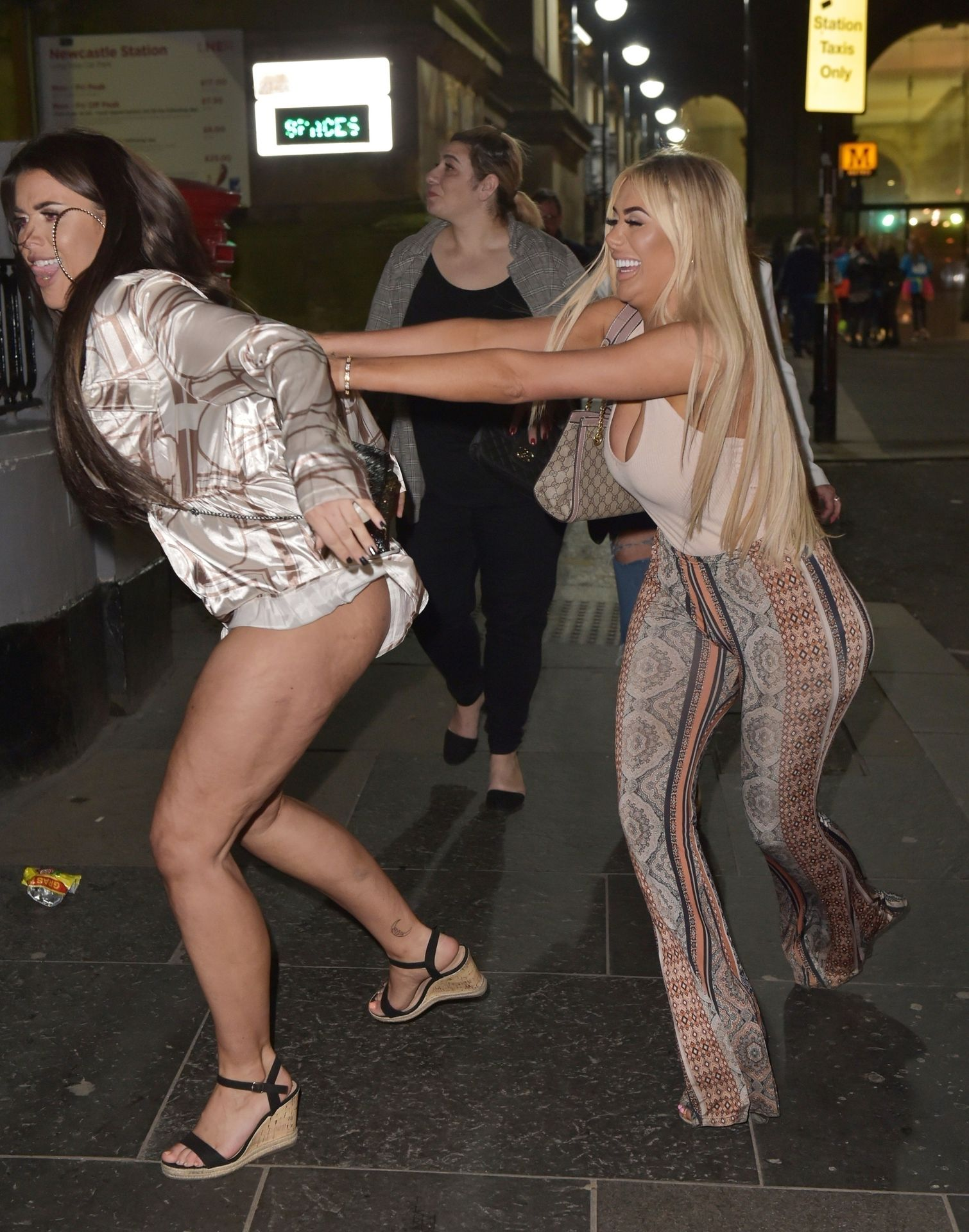 Chloe Ferry Hits The Toon With Her Mum 0031