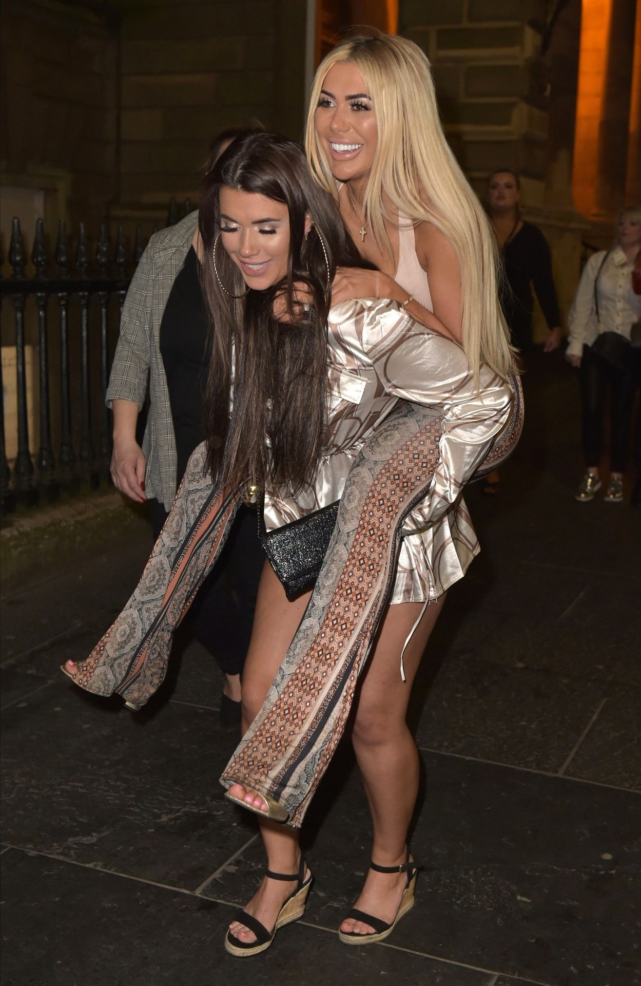 Chloe Ferry Hits The Toon With Her Mum 0041