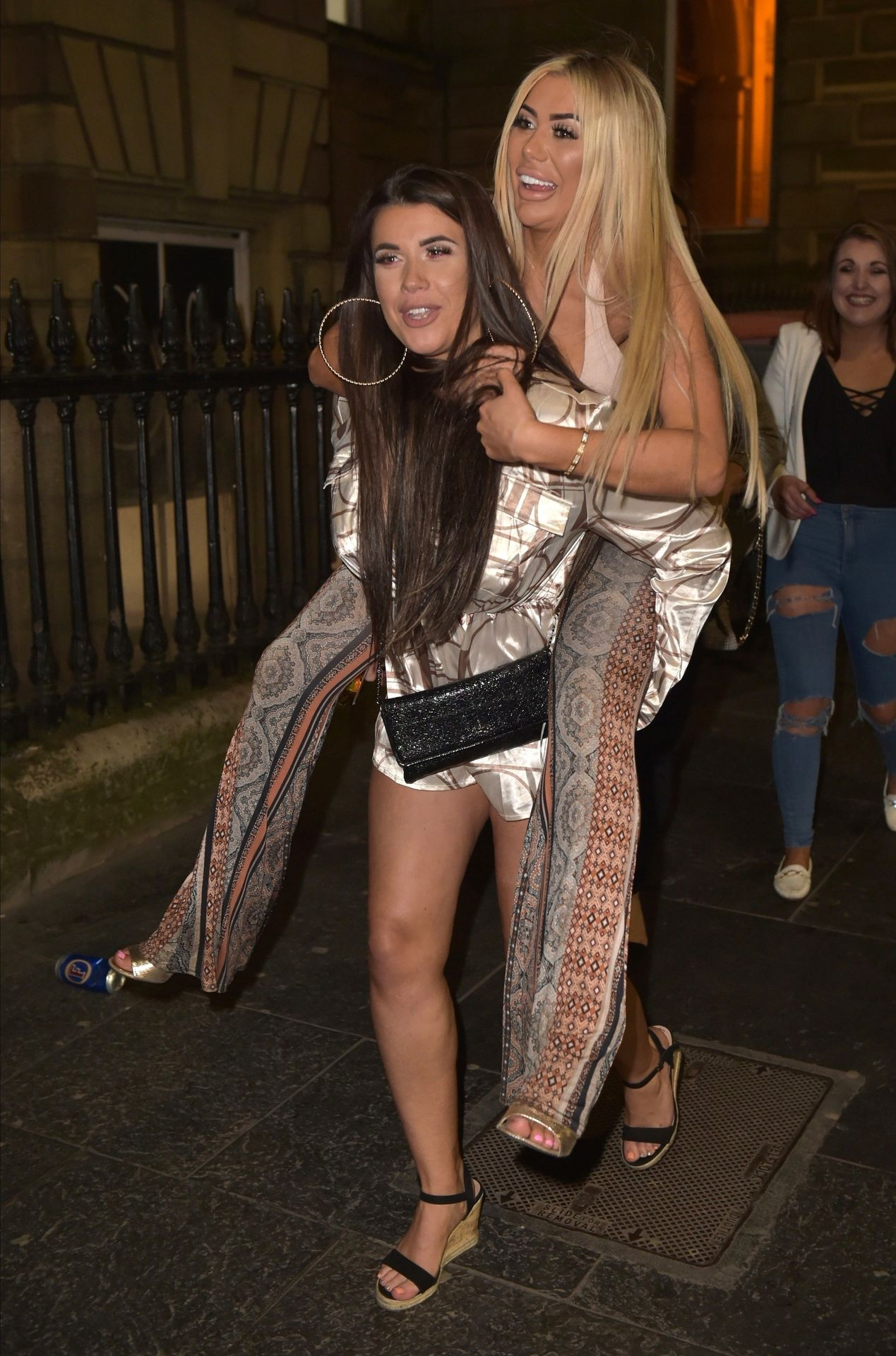 Chloe Ferry Hits The Toon With Her Mum 0042