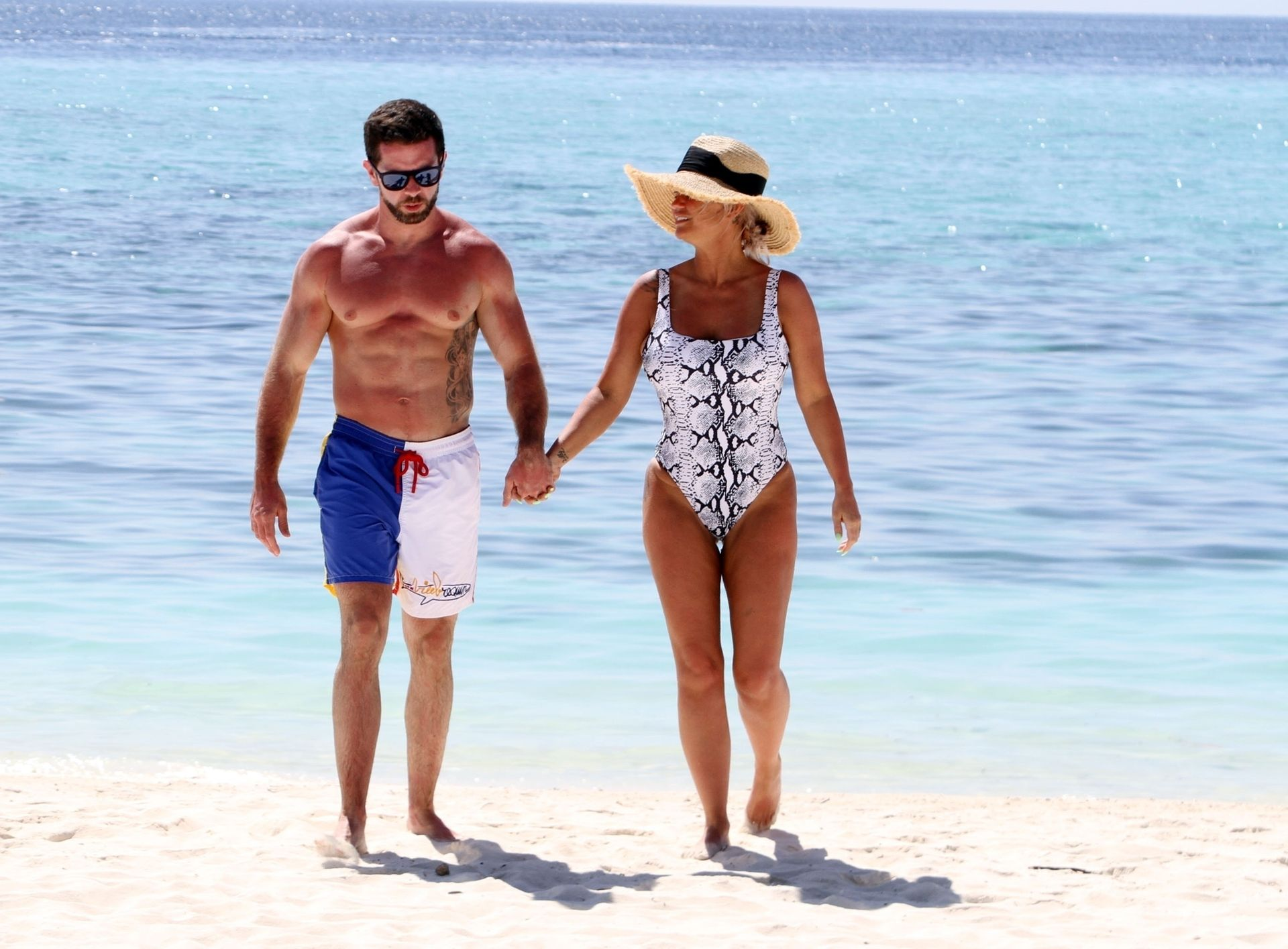 Kerry Katona & Ryan Mahoney Hit The Beach On Holiday At Their Luxury 5 Star Resort Ayada Maldives 0009