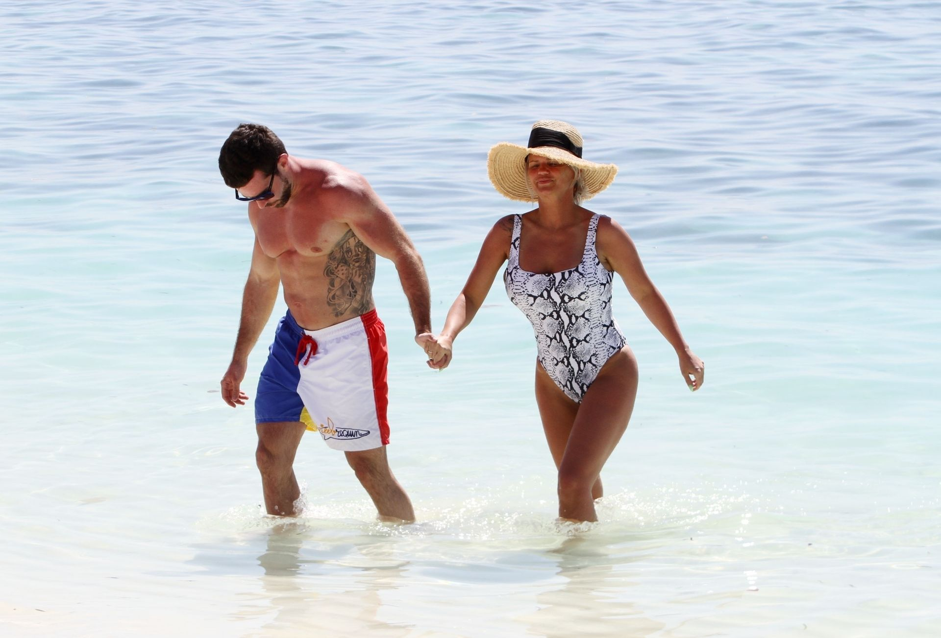 Kerry Katona & Ryan Mahoney Hit The Beach On Holiday At Their Luxury 5 Star Resort Ayada Maldives 0015