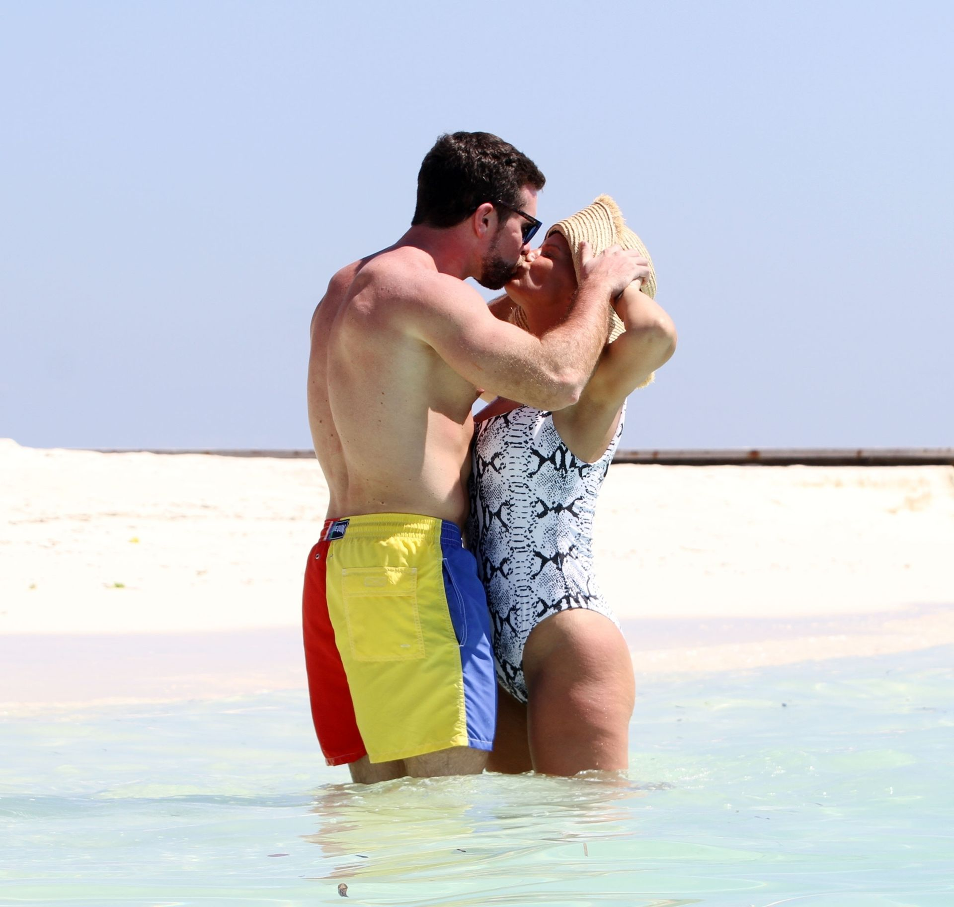 Kerry Katona & Ryan Mahoney Hit The Beach On Holiday At Their Luxury 5 Star Resort Ayada Maldives 0021