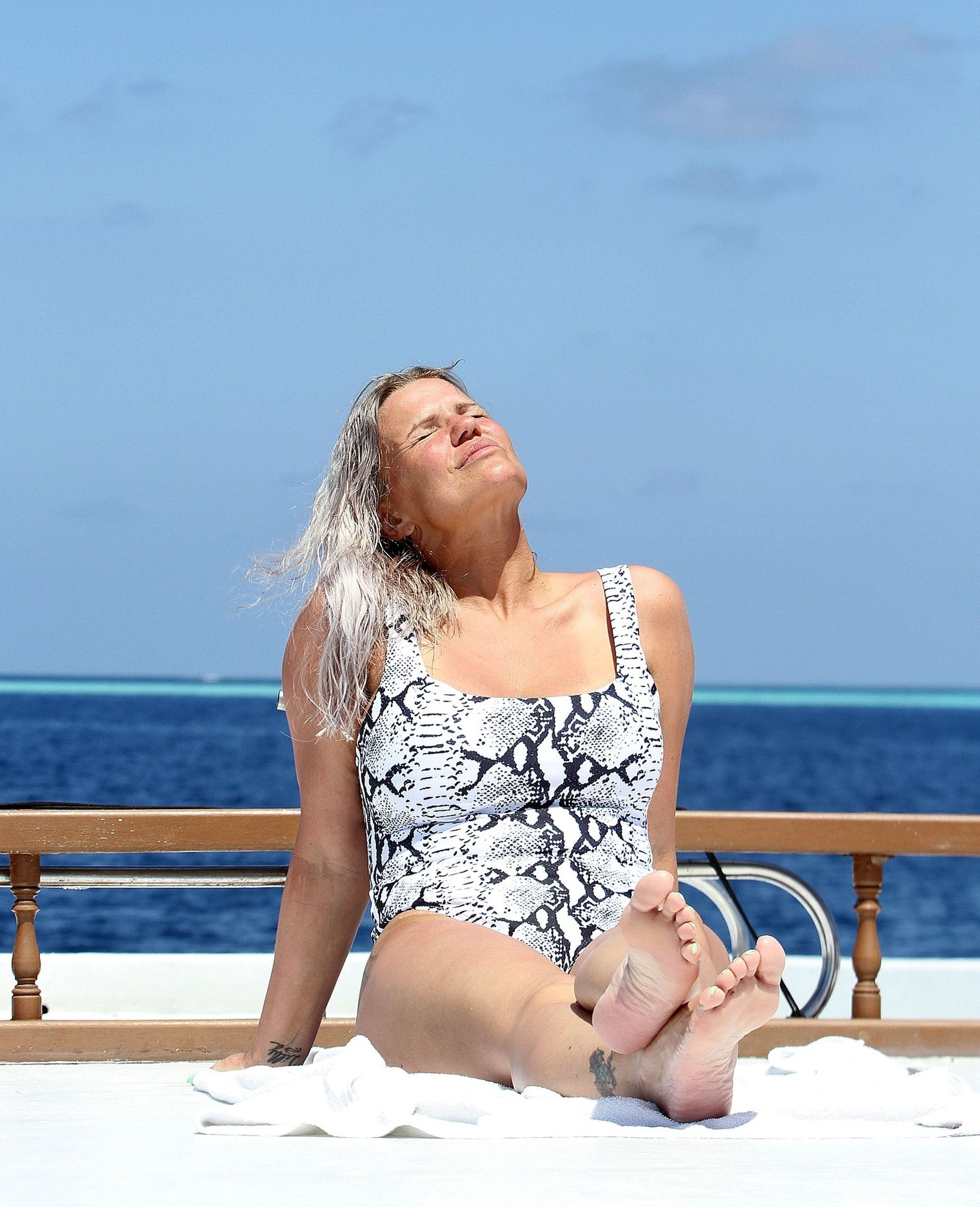 Kerry Katona & Ryan Mahoney Hit The Beach On Holiday At Their Luxury 5 Star Resort Ayada Maldives 0040