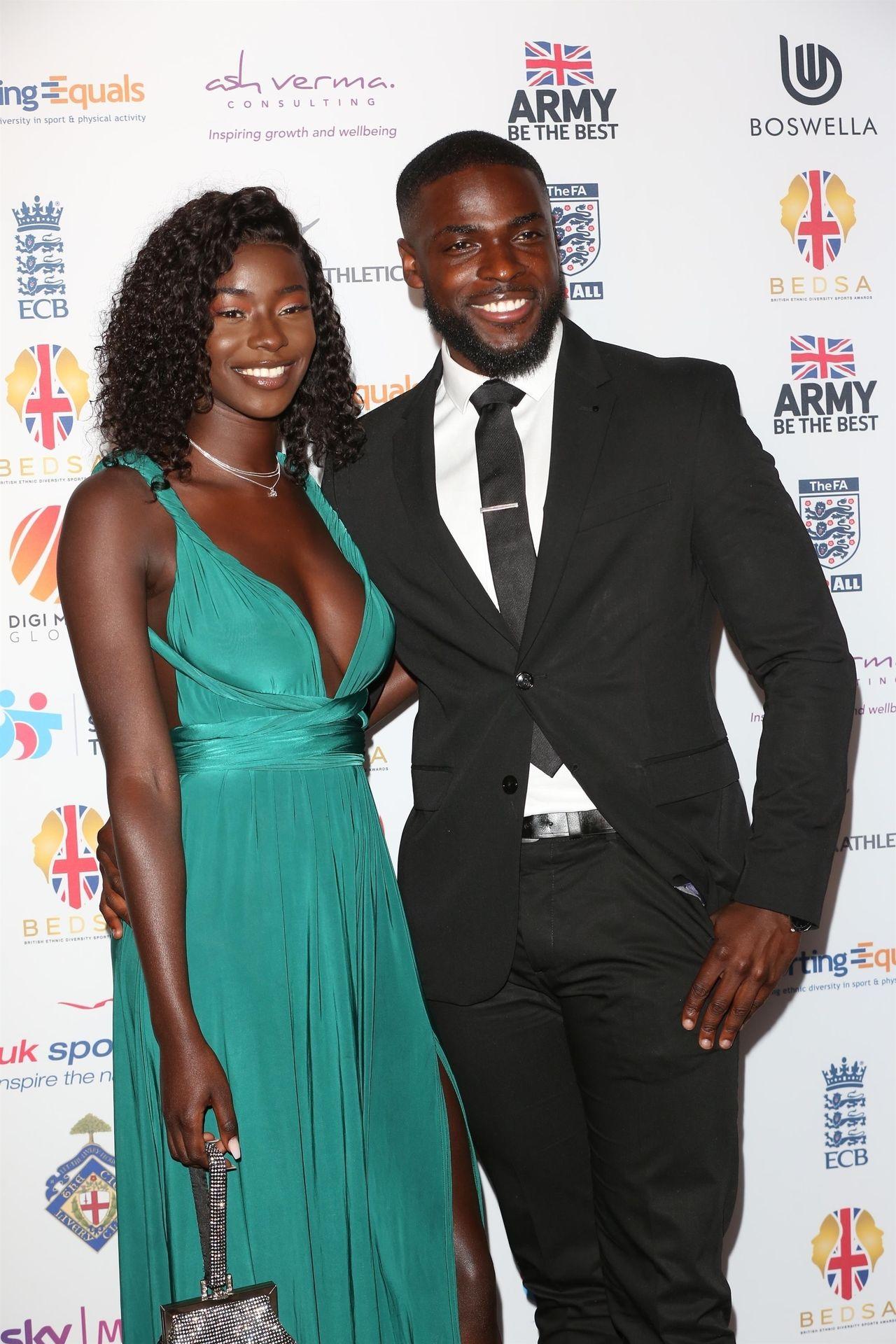 Mike Boateng & Priscilla Anyabu Are Seen At British Ethnic Diversity Sports Awards 0001