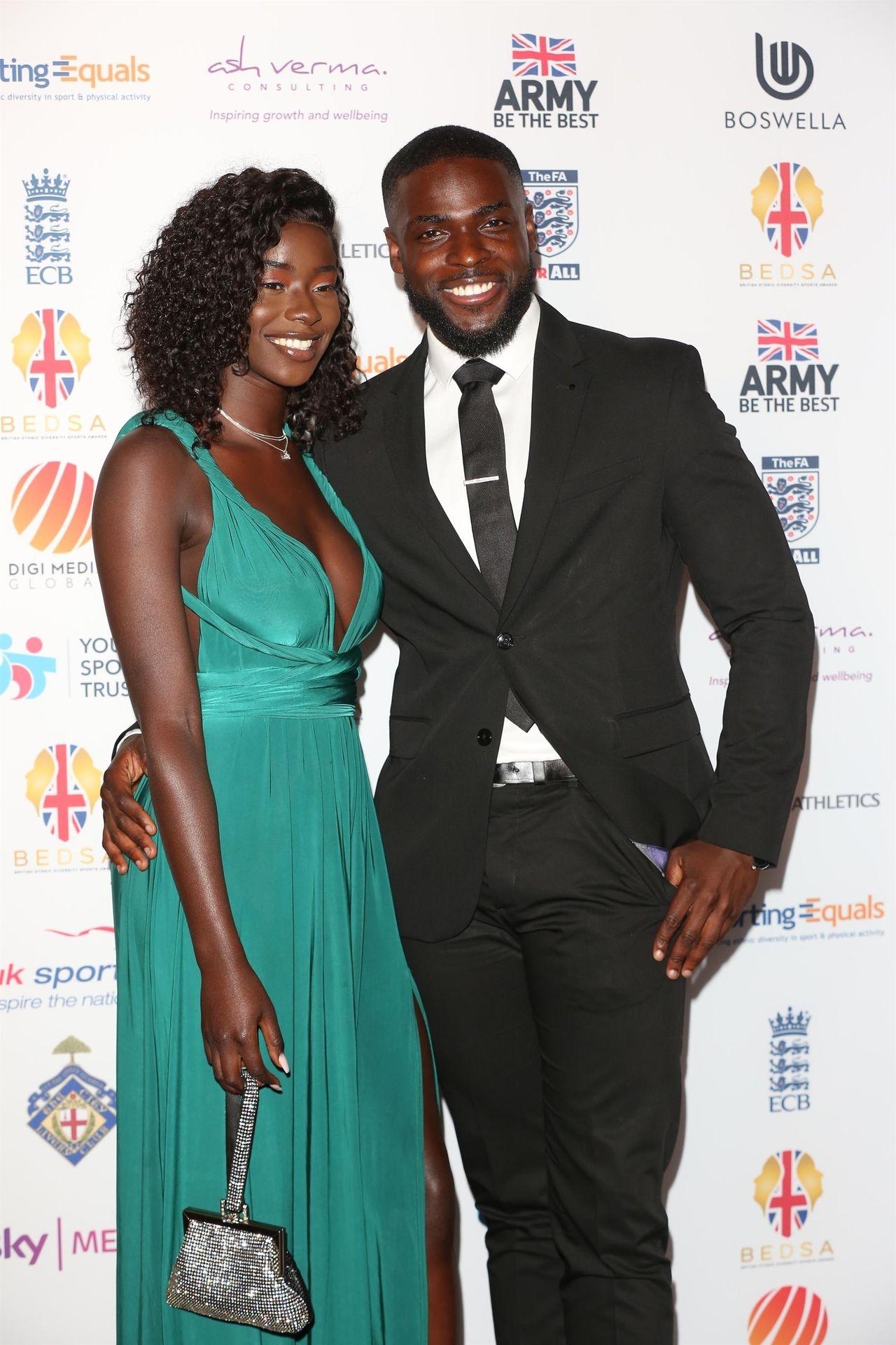 Mike Boateng & Priscilla Anyabu Are Seen At British Ethnic Diversity Sports Awards 0003