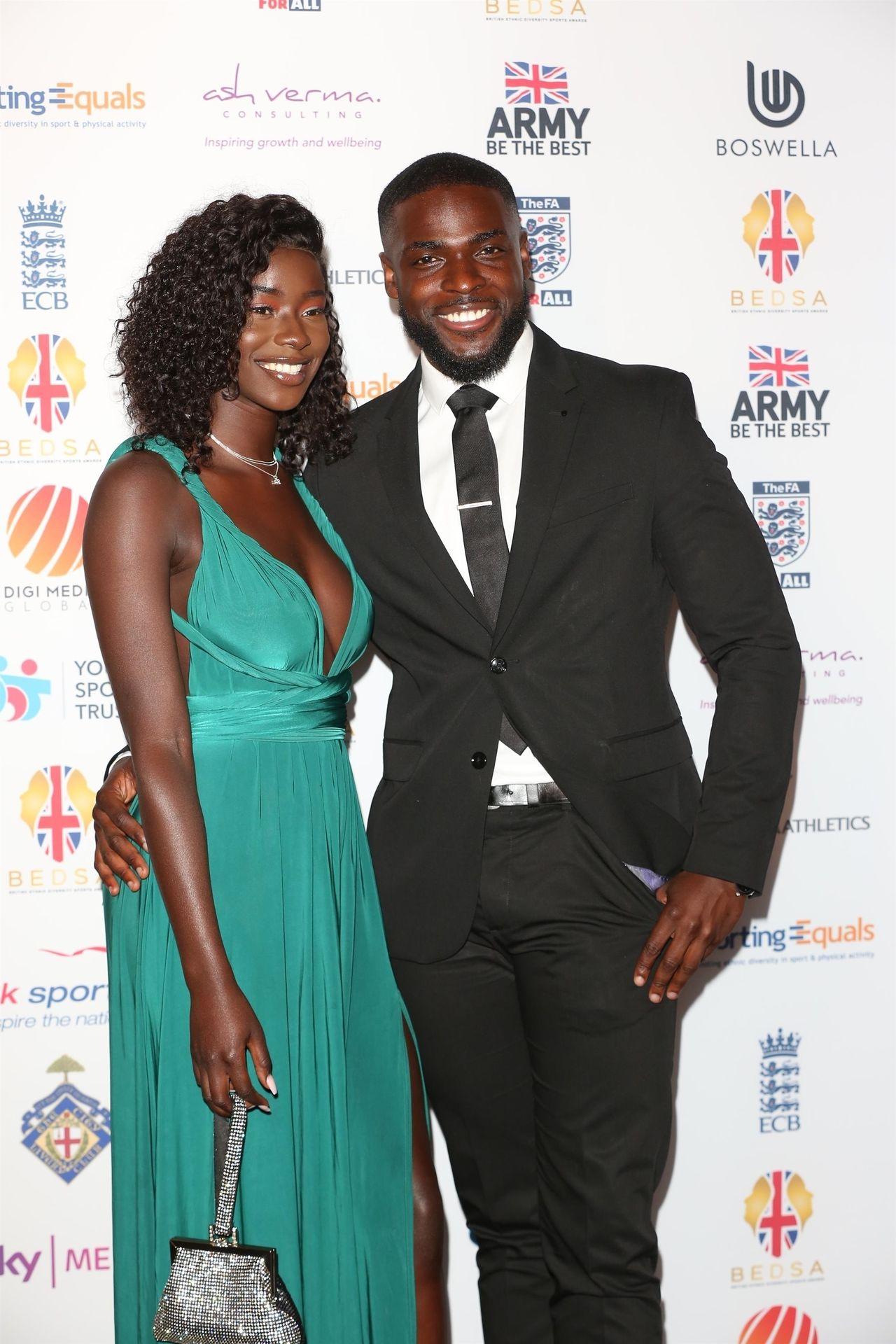 Mike Boateng & Priscilla Anyabu Are Seen At British Ethnic Diversity Sports Awards 0004