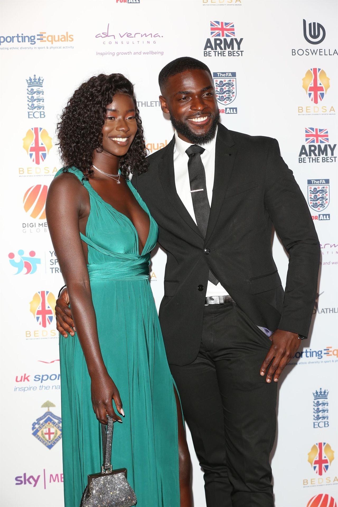 Mike Boateng & Priscilla Anyabu Are Seen At British Ethnic Diversity Sports Awards 0005