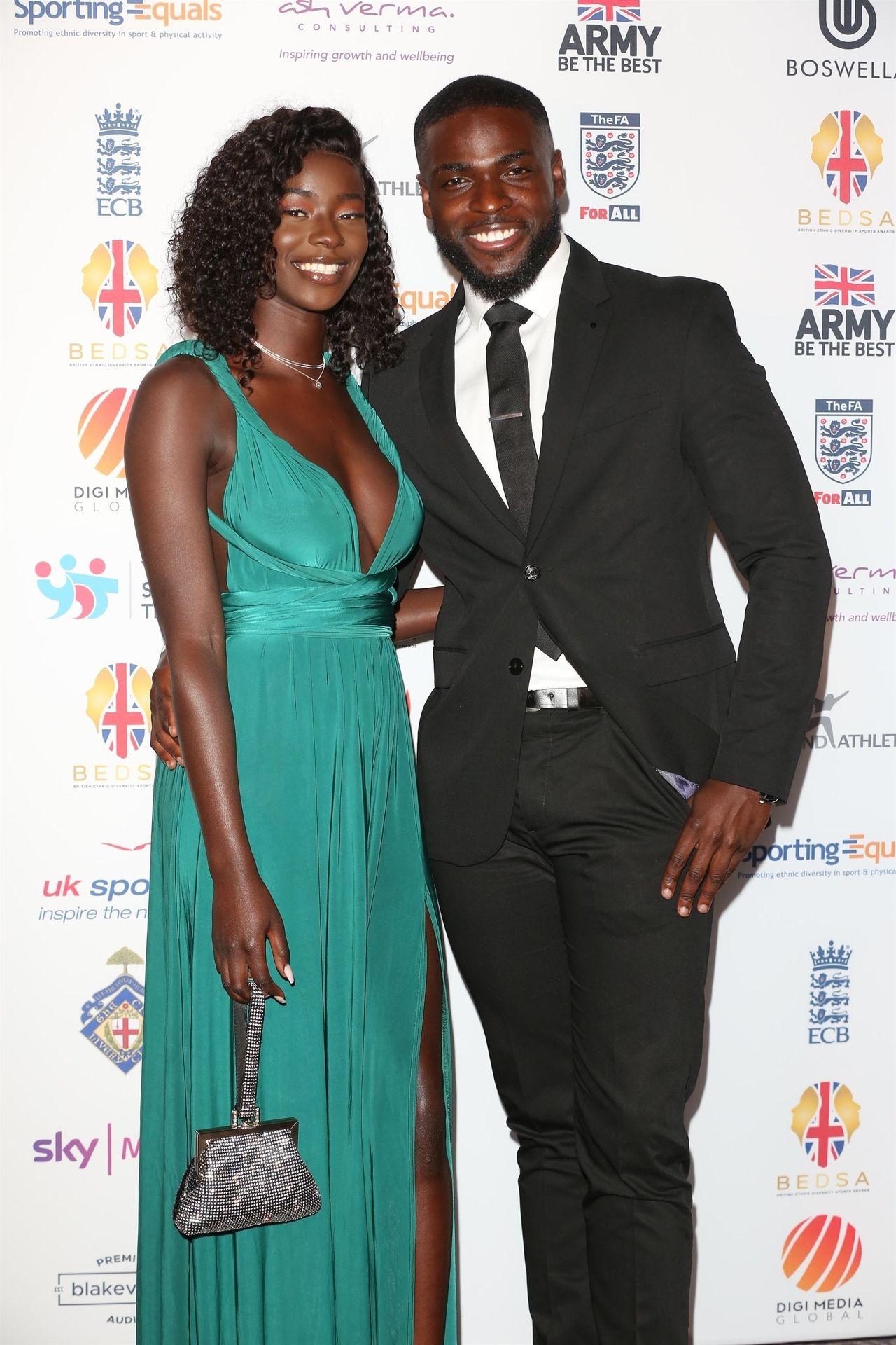 Mike Boateng & Priscilla Anyabu Are Seen At British Ethnic Diversity Sports Awards 0007