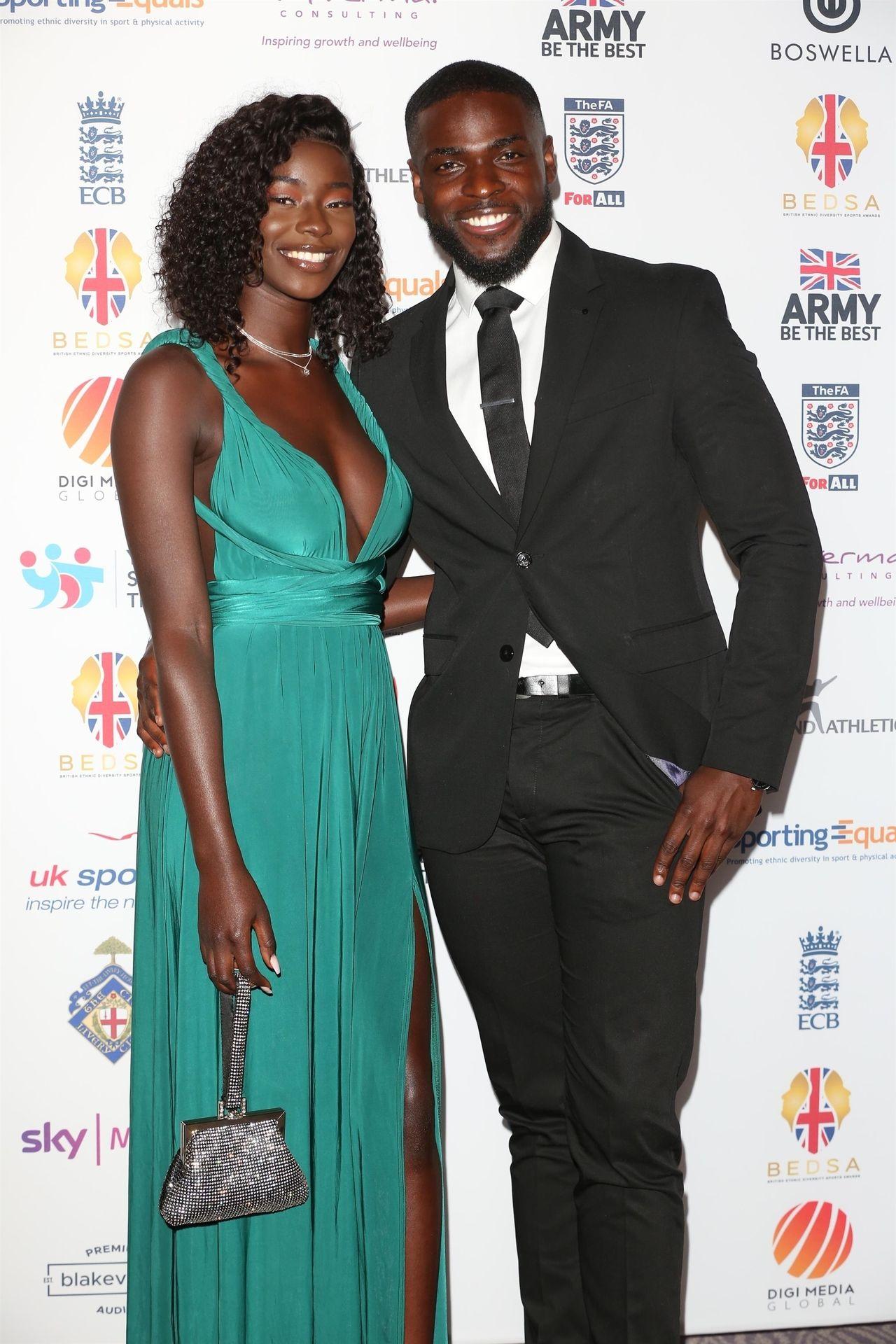 Mike Boateng & Priscilla Anyabu Are Seen At British Ethnic Diversity Sports Awards 0008