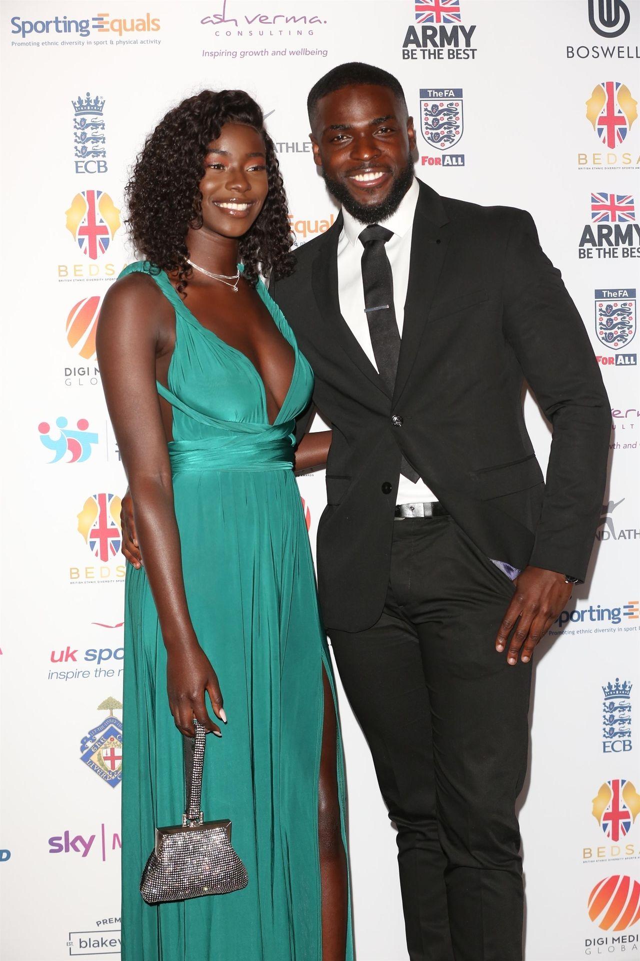 Mike Boateng & Priscilla Anyabu Are Seen At British Ethnic Diversity Sports Awards 0009