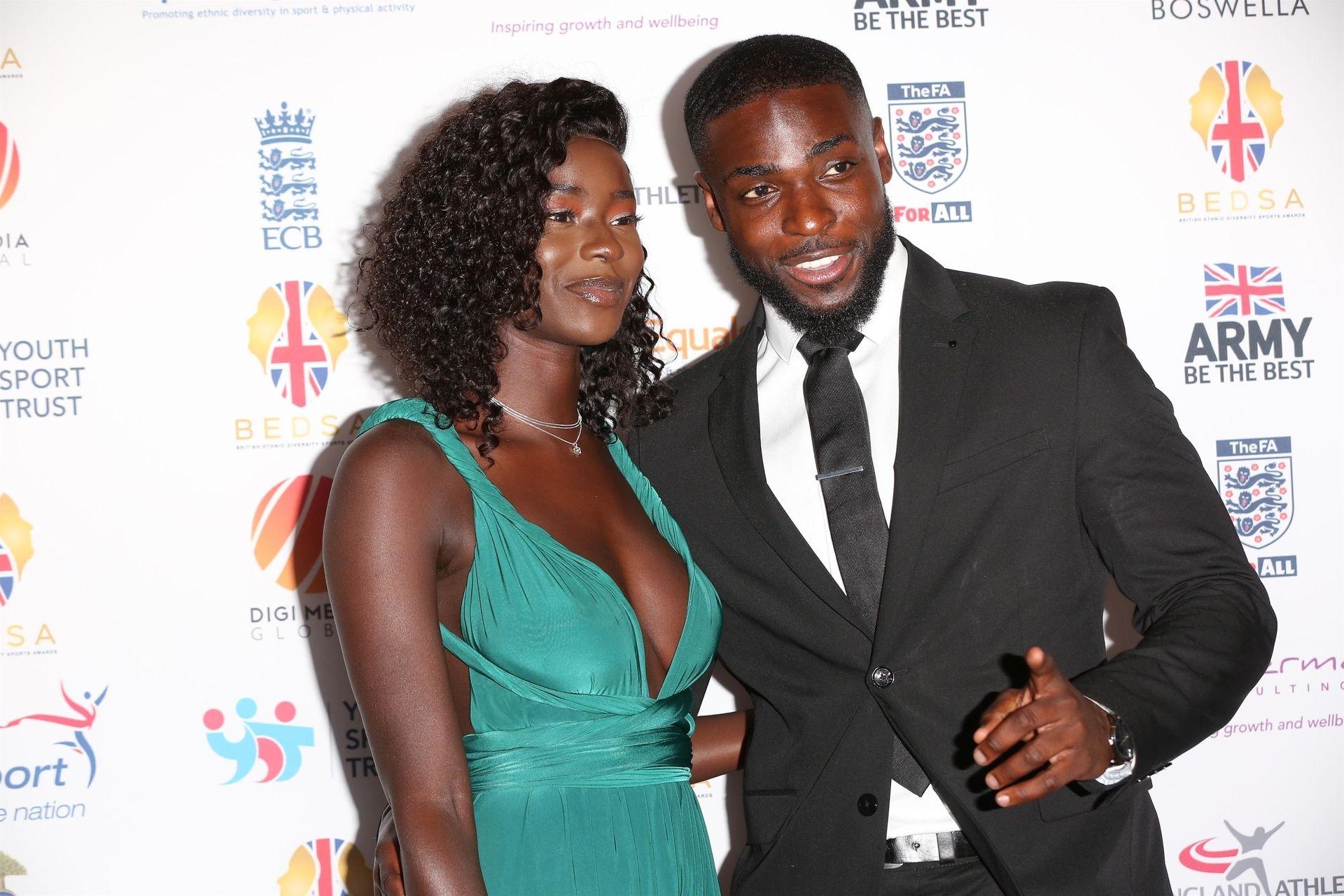 Mike Boateng & Priscilla Anyabu Are Seen At British Ethnic Diversity Sports Awards 0010