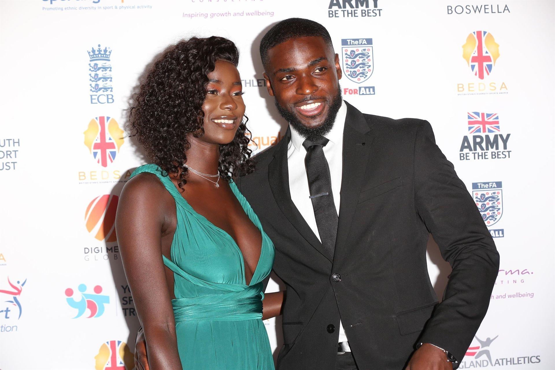 Mike Boateng & Priscilla Anyabu Are Seen At British Ethnic Diversity Sports Awards 0011