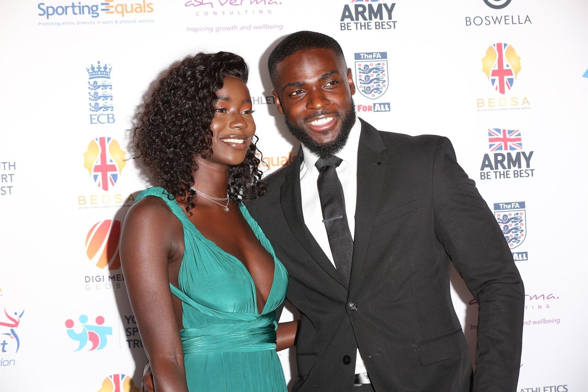 Mike Boateng & Priscilla Anyabu Are Seen At British Ethnic Diversity Sports Awards 0012