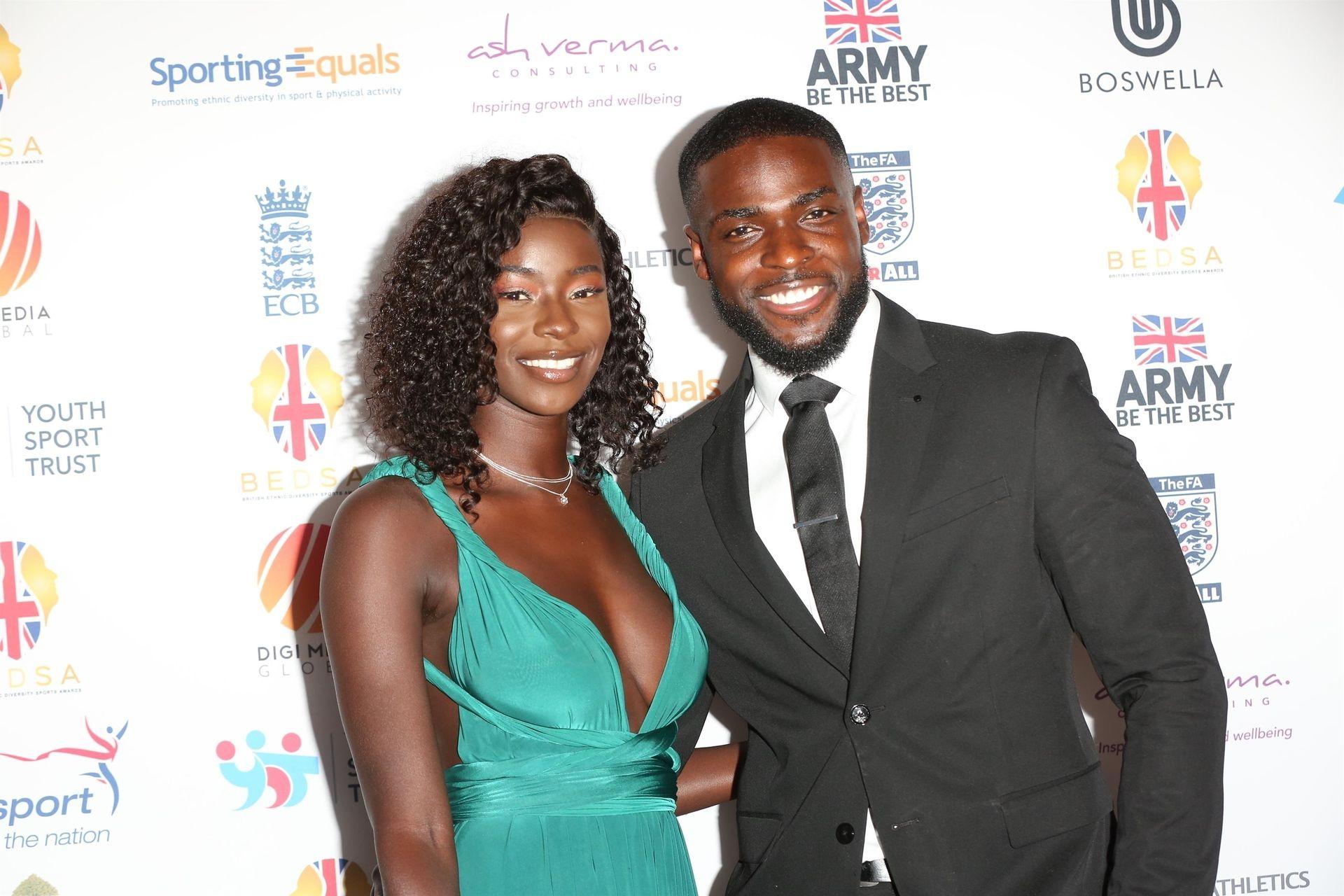 Mike Boateng & Priscilla Anyabu Are Seen At British Ethnic Diversity Sports Awards 0015