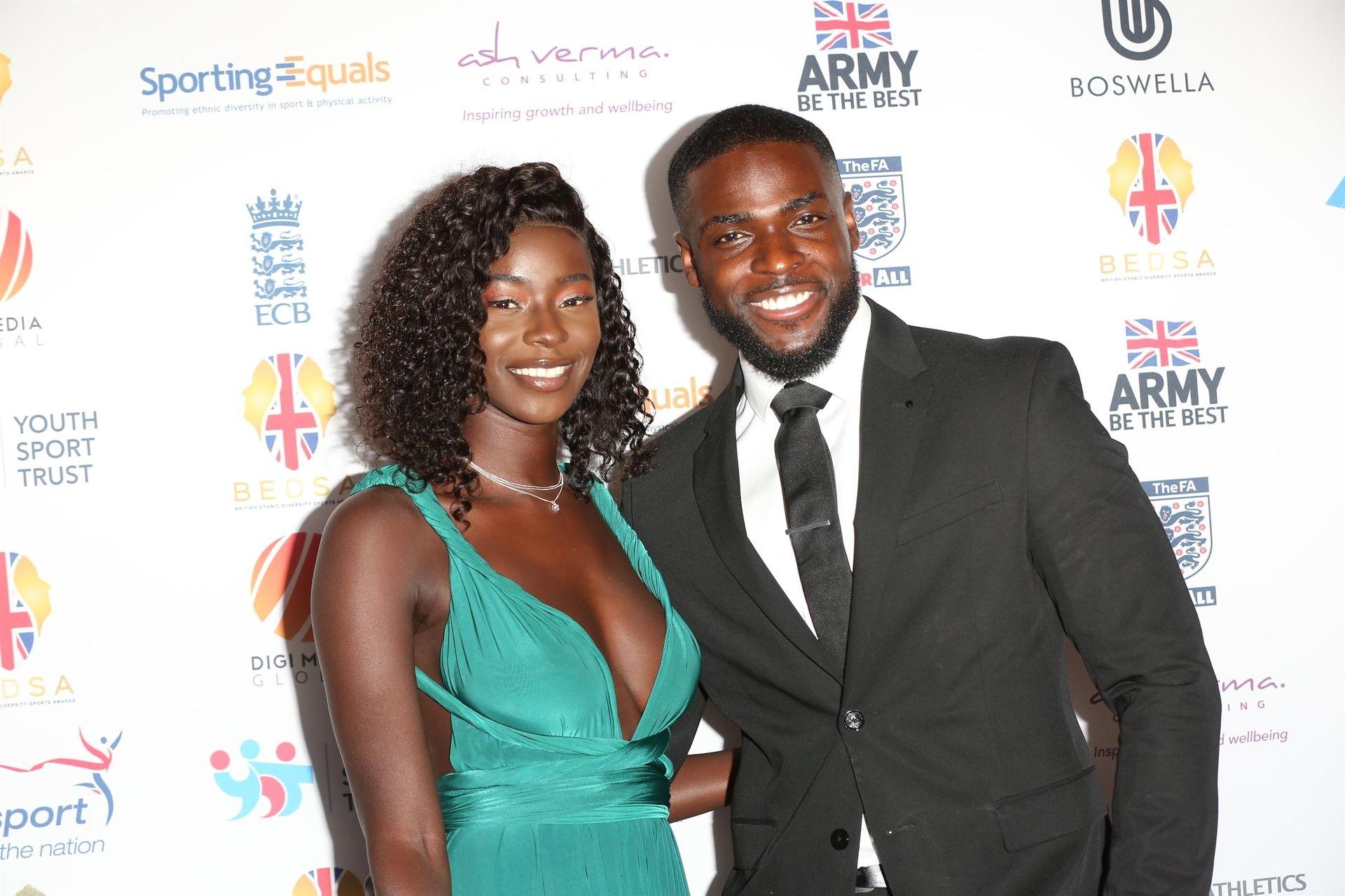 Mike Boateng & Priscilla Anyabu Are Seen At British Ethnic Diversity Sports Awards 0016