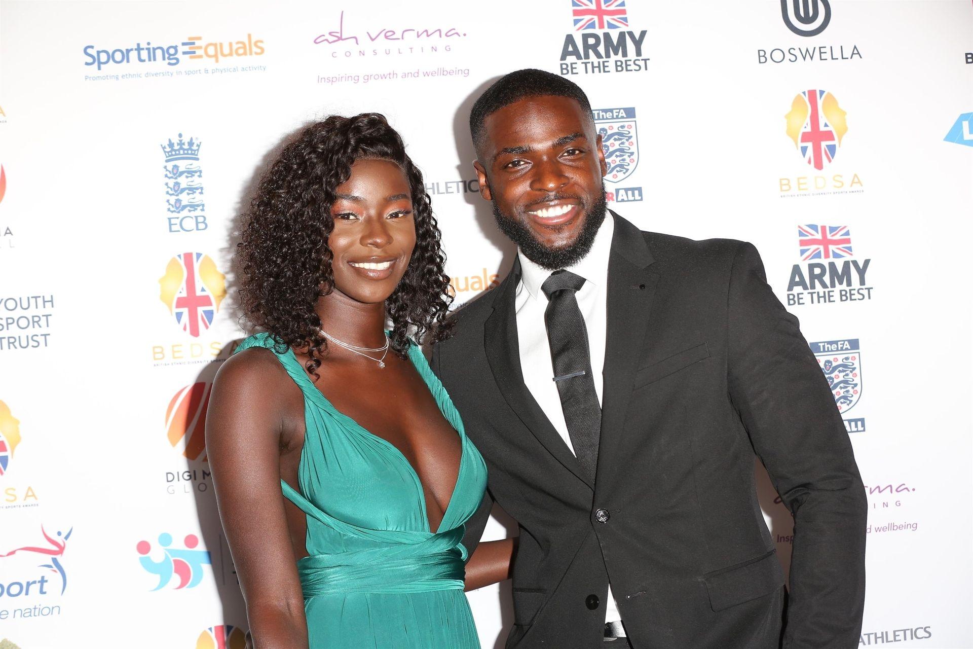 Mike Boateng & Priscilla Anyabu Are Seen At British Ethnic Diversity Sports Awards 0017