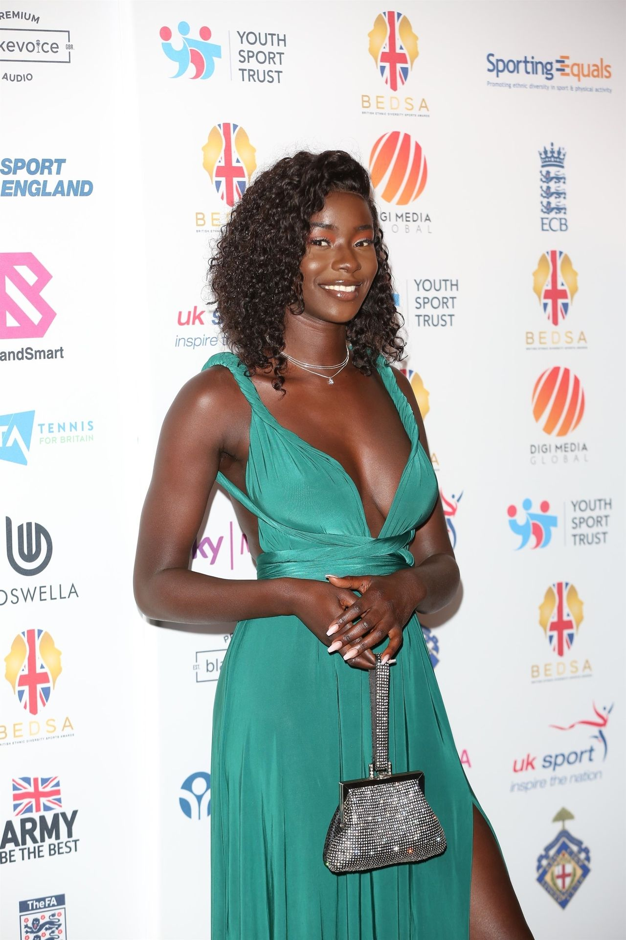 Mike Boateng & Priscilla Anyabu Are Seen At British Ethnic Diversity Sports Awards 0027
