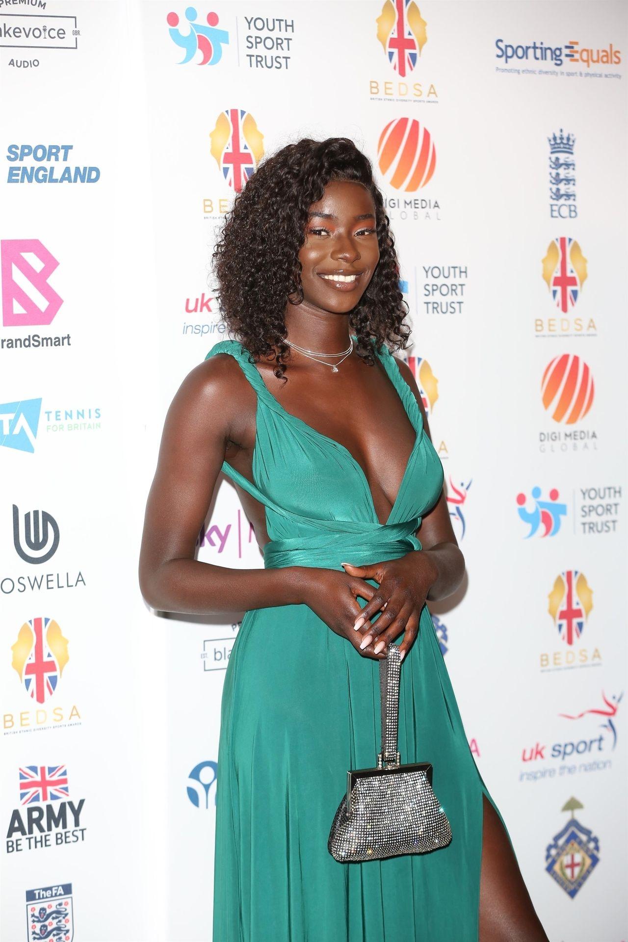 Mike Boateng & Priscilla Anyabu Are Seen At British Ethnic Diversity Sports Awards 0028