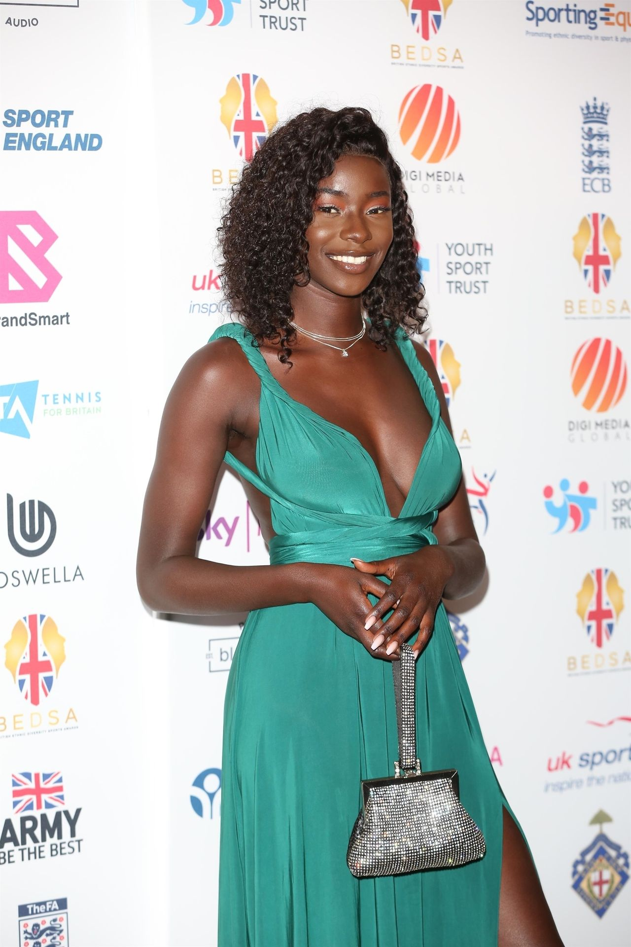 Mike Boateng & Priscilla Anyabu Are Seen At British Ethnic Diversity Sports Awards 0029
