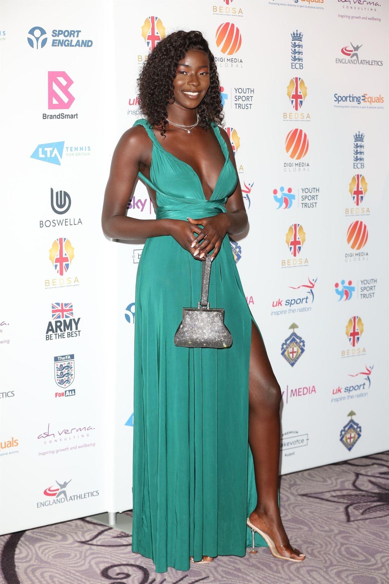 Mike Boateng & Priscilla Anyabu Are Seen At British Ethnic Diversity Sports Awards 0030