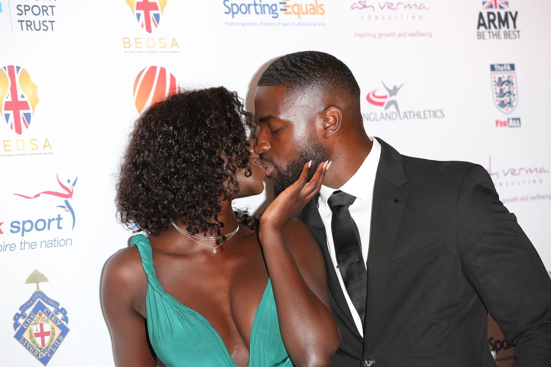 Mike Boateng & Priscilla Anyabu Are Seen At British Ethnic Diversity Sports Awards 0050