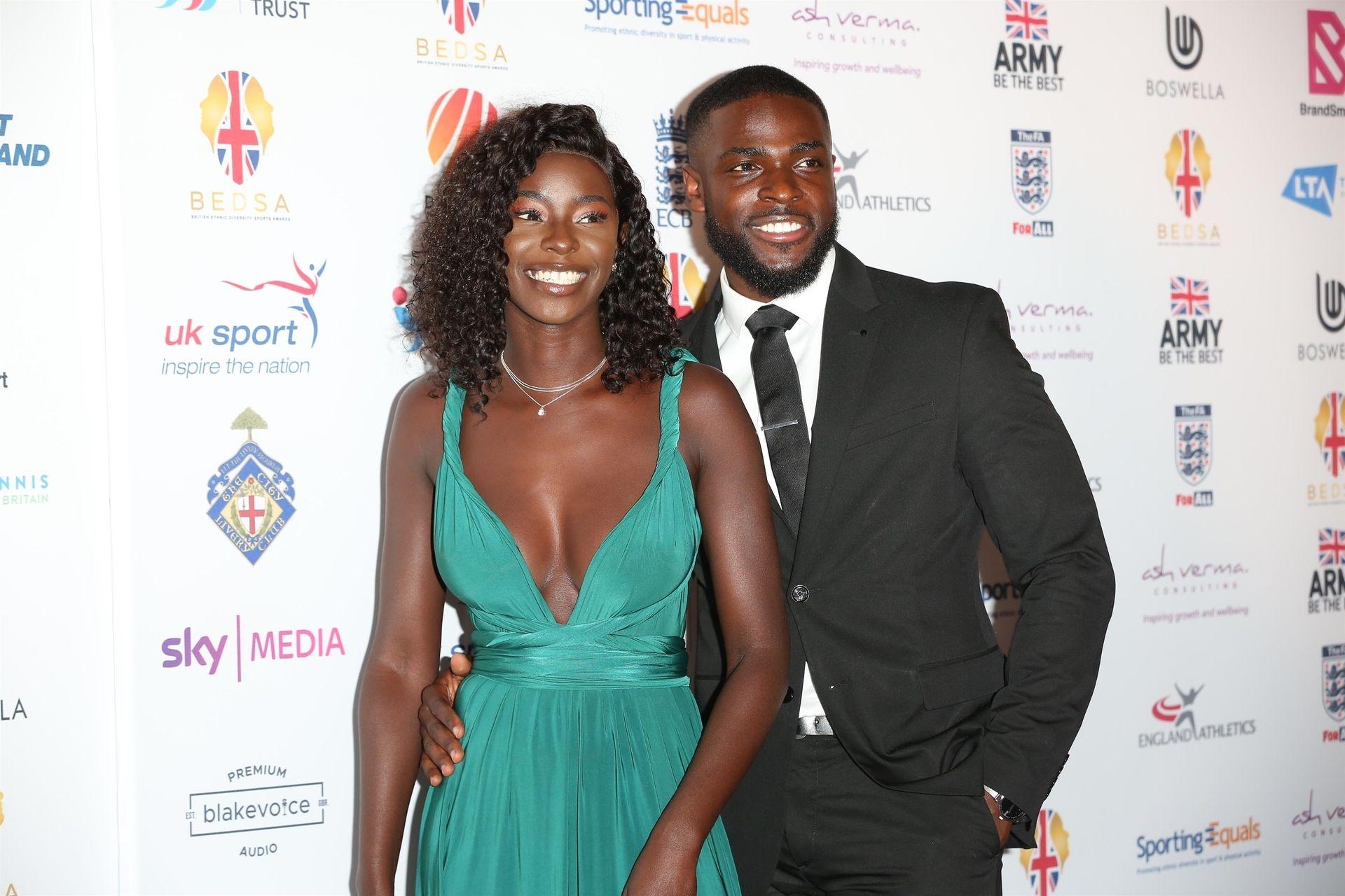 Mike Boateng & Priscilla Anyabu Are Seen At British Ethnic Diversity Sports Awards 0052