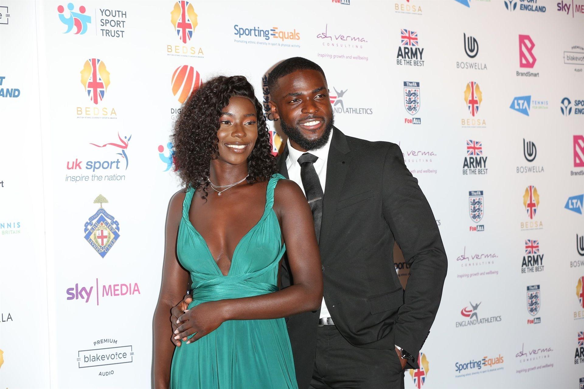 Mike Boateng & Priscilla Anyabu Are Seen At British Ethnic Diversity Sports Awards 0054