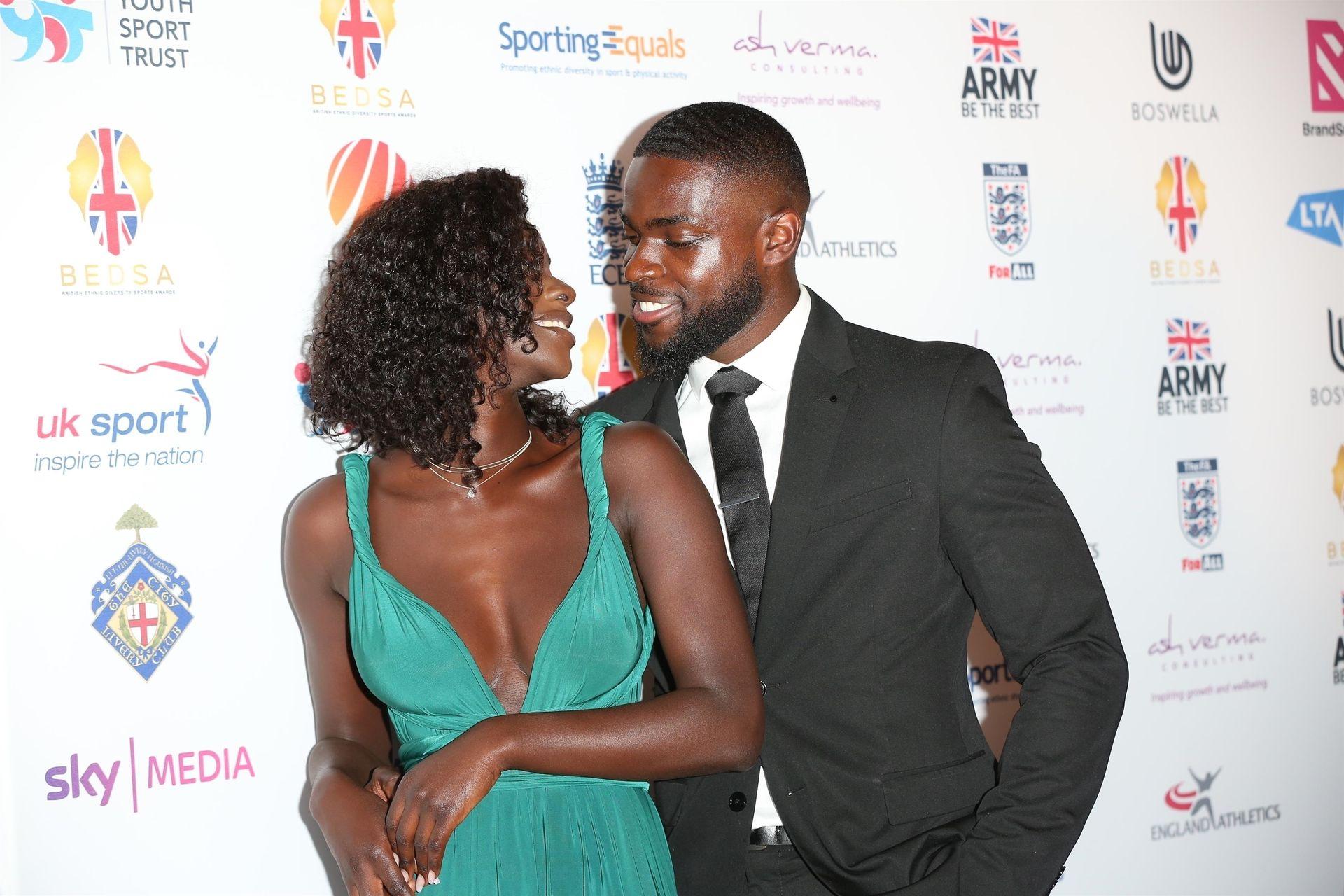 Mike Boateng & Priscilla Anyabu Are Seen At British Ethnic Diversity Sports Awards 0058