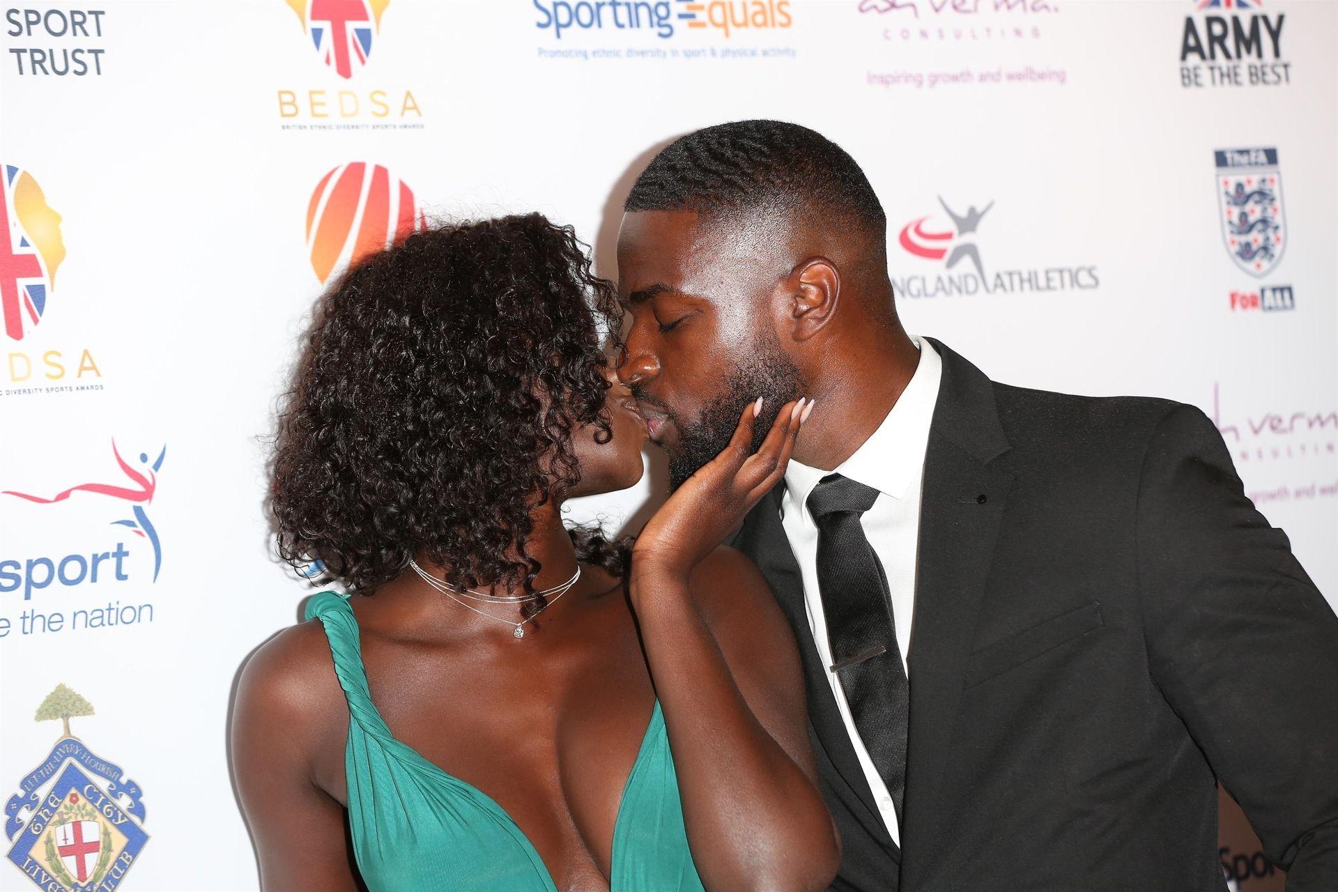 Mike Boateng & Priscilla Anyabu Are Seen At British Ethnic Diversity Sports Awards 0068