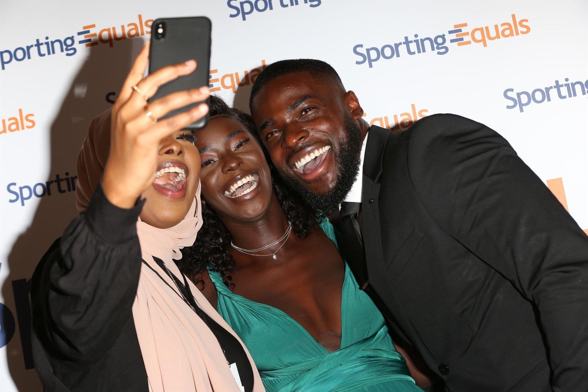 Mike Boateng & Priscilla Anyabu Are Seen At British Ethnic Diversity Sports Awards 0079