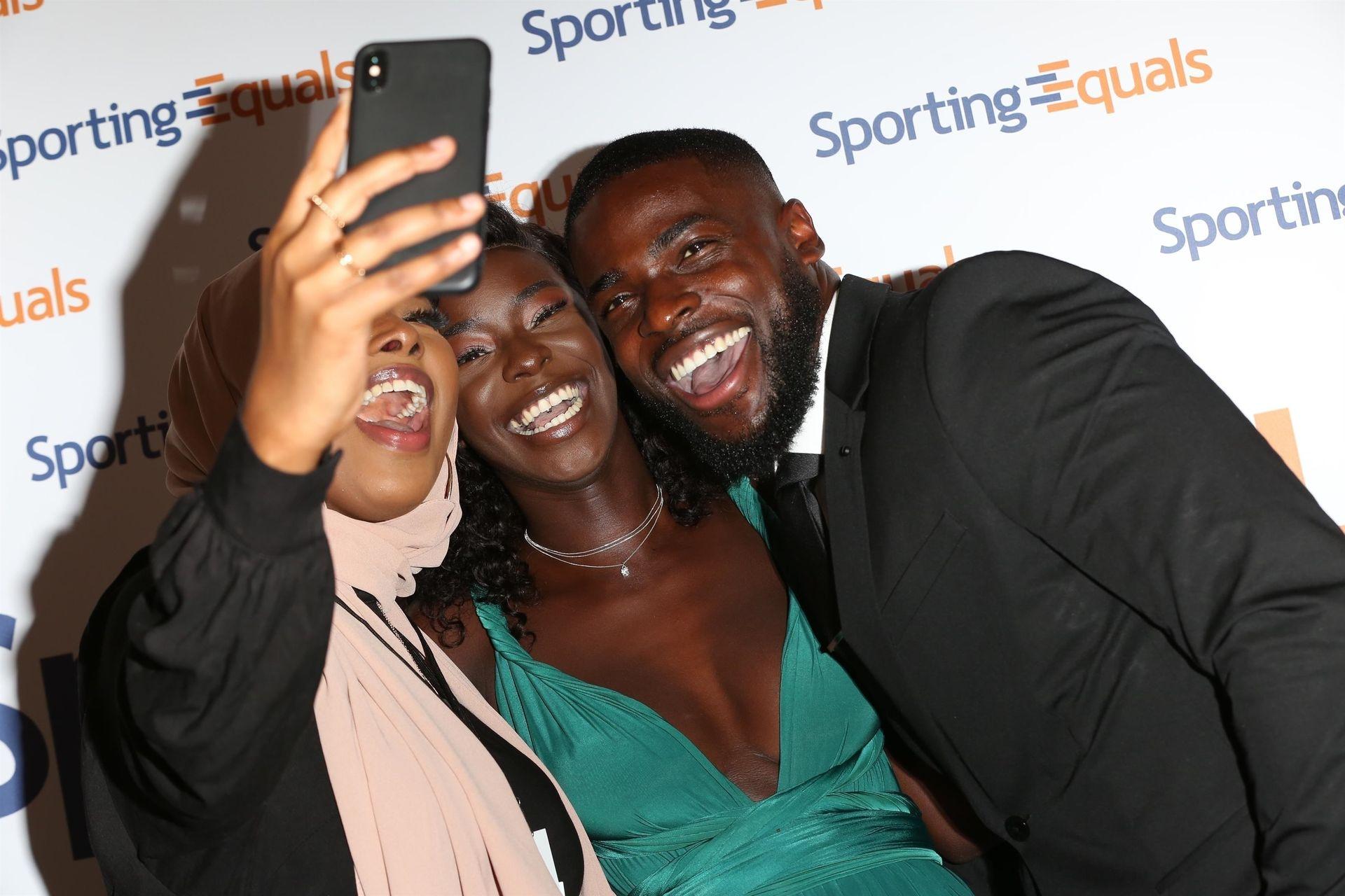Mike Boateng & Priscilla Anyabu Are Seen At British Ethnic Diversity Sports Awards 0080