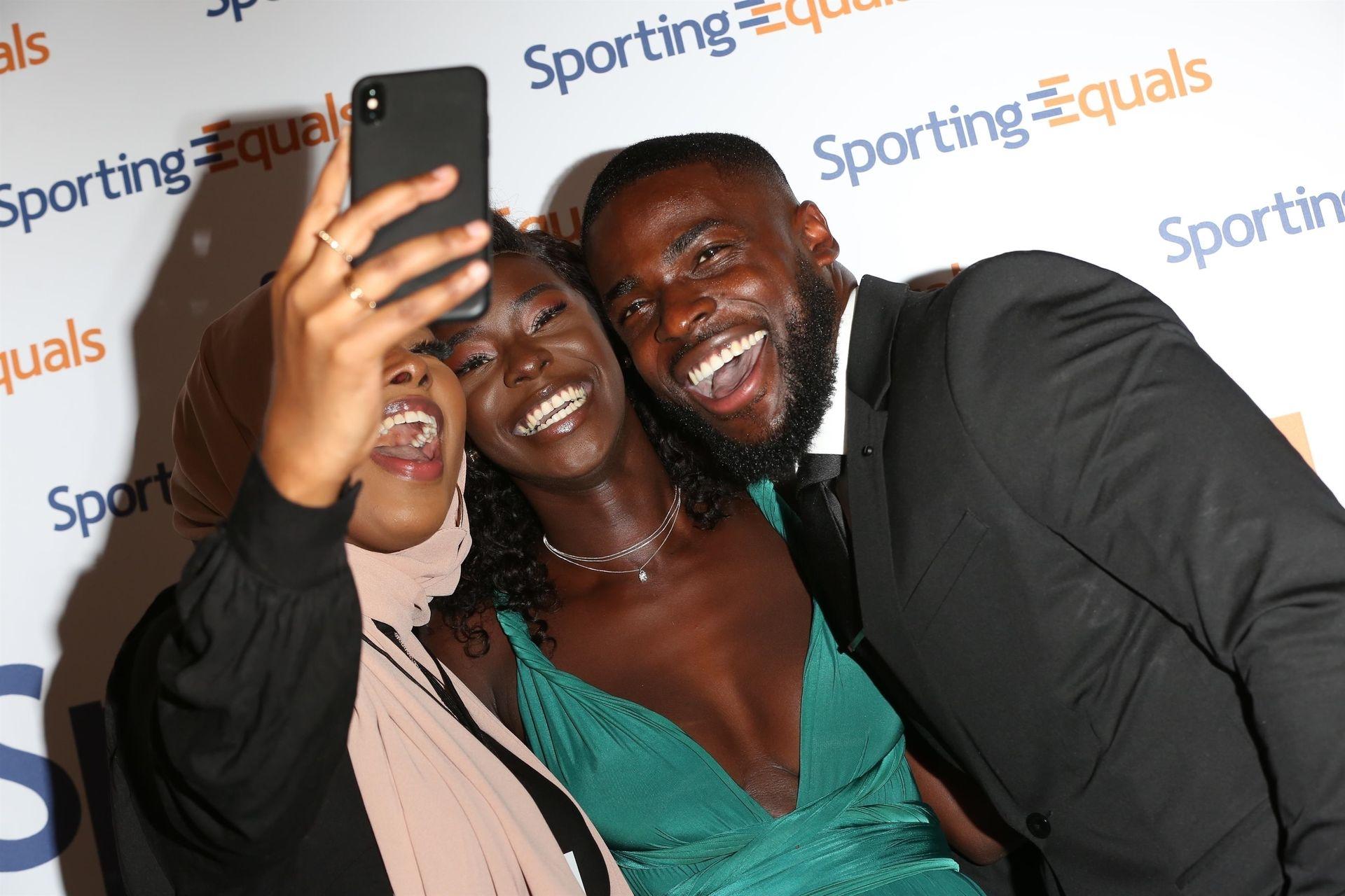 Mike Boateng & Priscilla Anyabu Are Seen At British Ethnic Diversity Sports Awards 0081