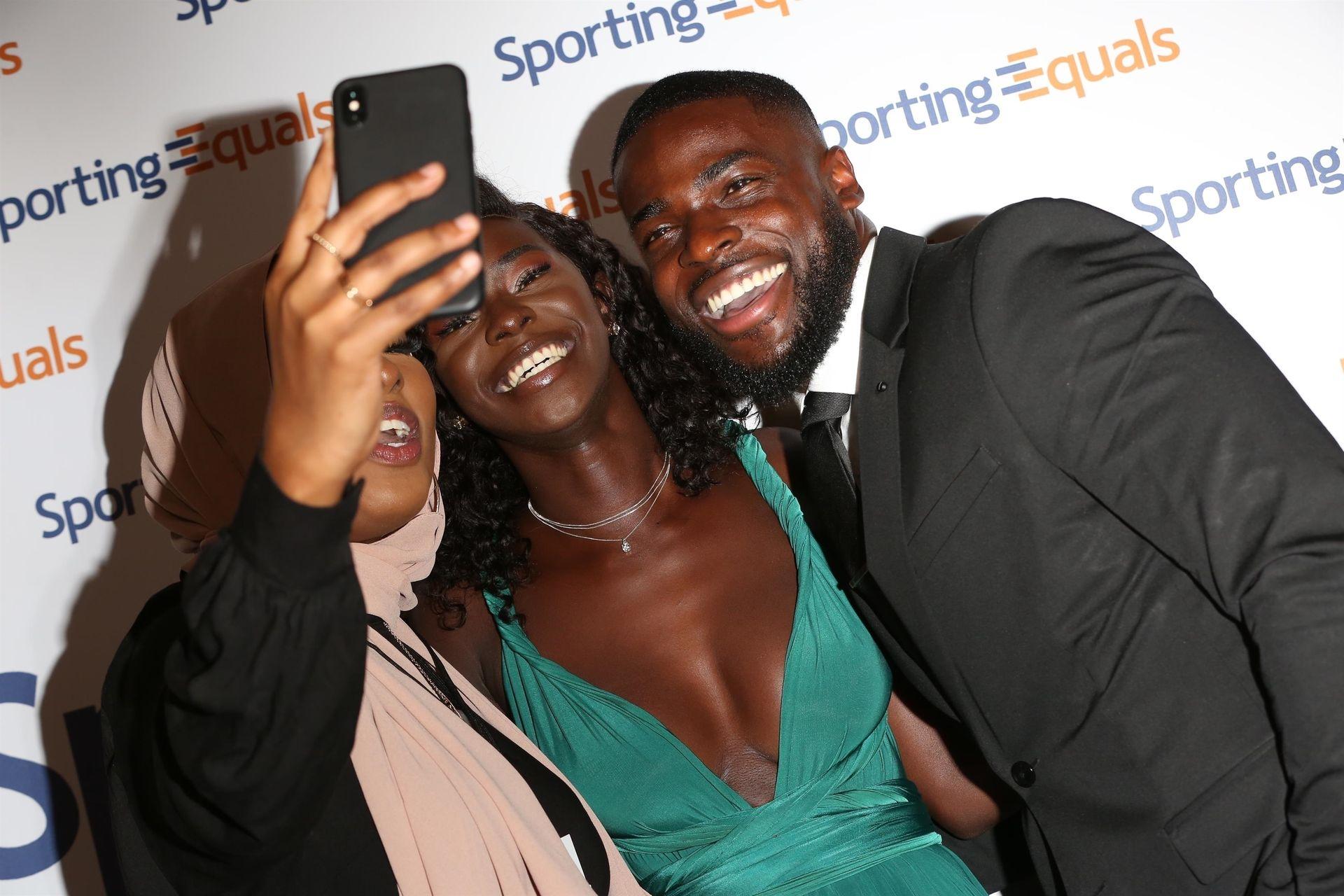 Mike Boateng & Priscilla Anyabu Are Seen At British Ethnic Diversity Sports Awards 0082