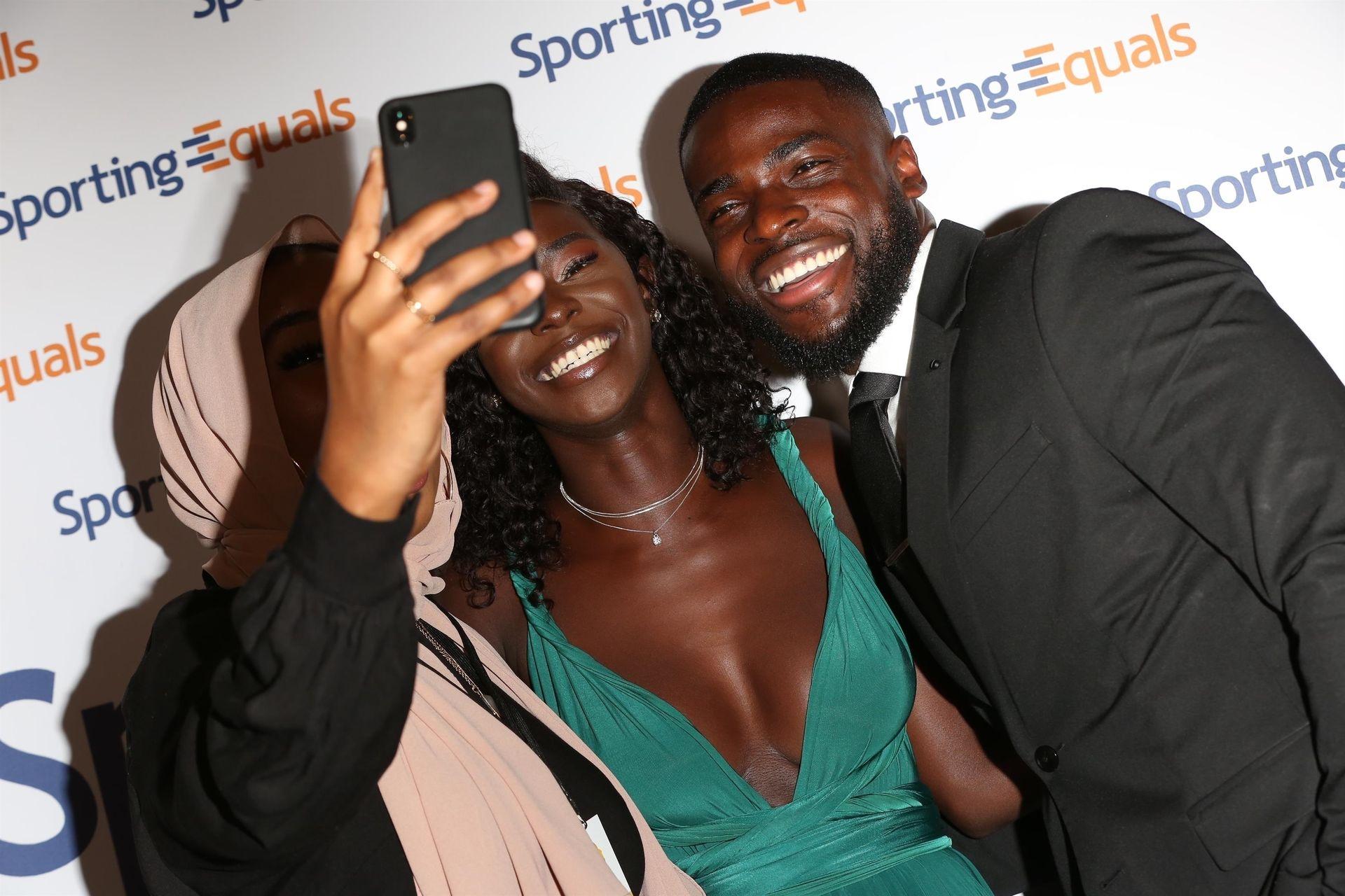 Mike Boateng & Priscilla Anyabu Are Seen At British Ethnic Diversity Sports Awards 0083