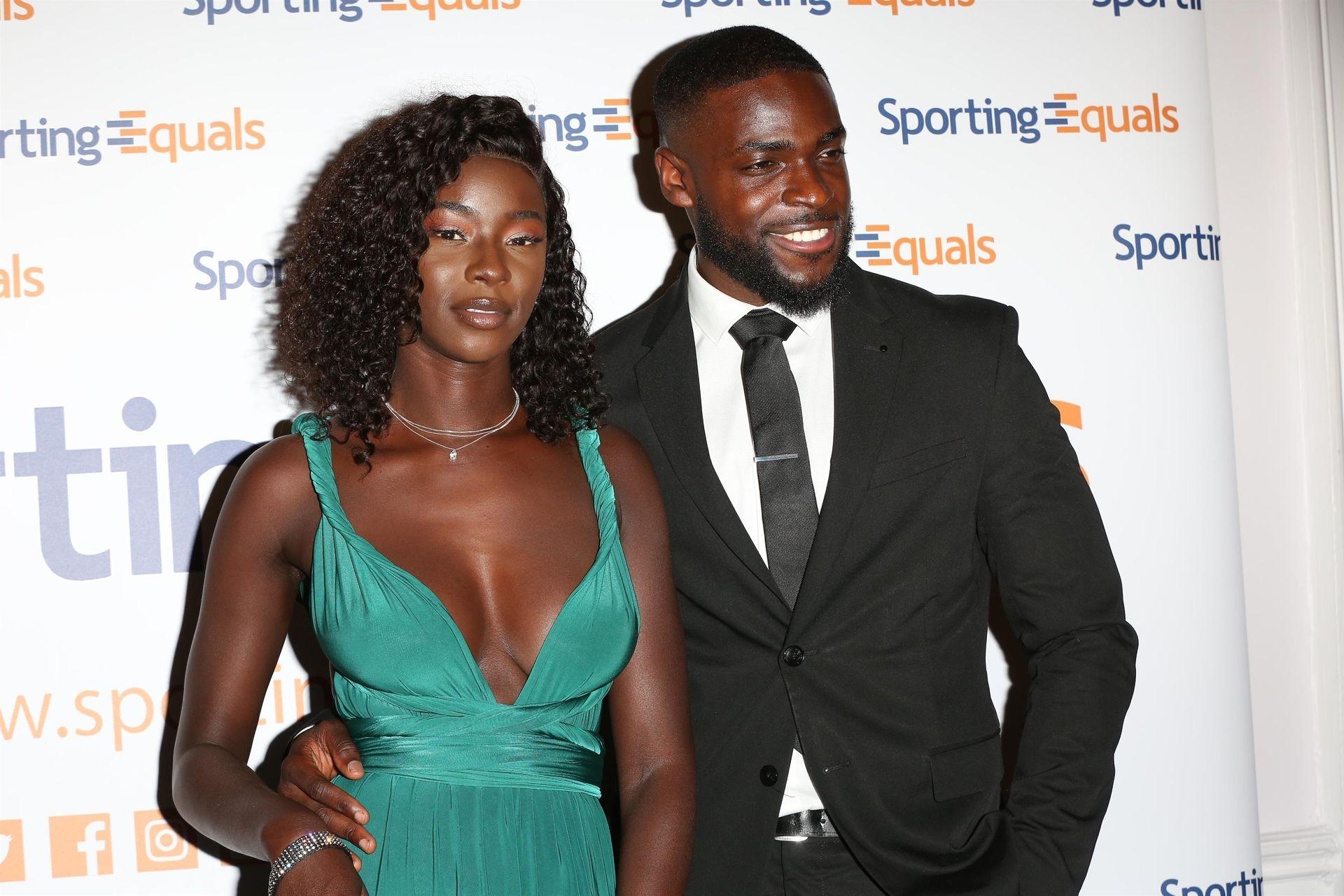 Mike Boateng & Priscilla Anyabu Are Seen At British Ethnic Diversity Sports Awards 0089