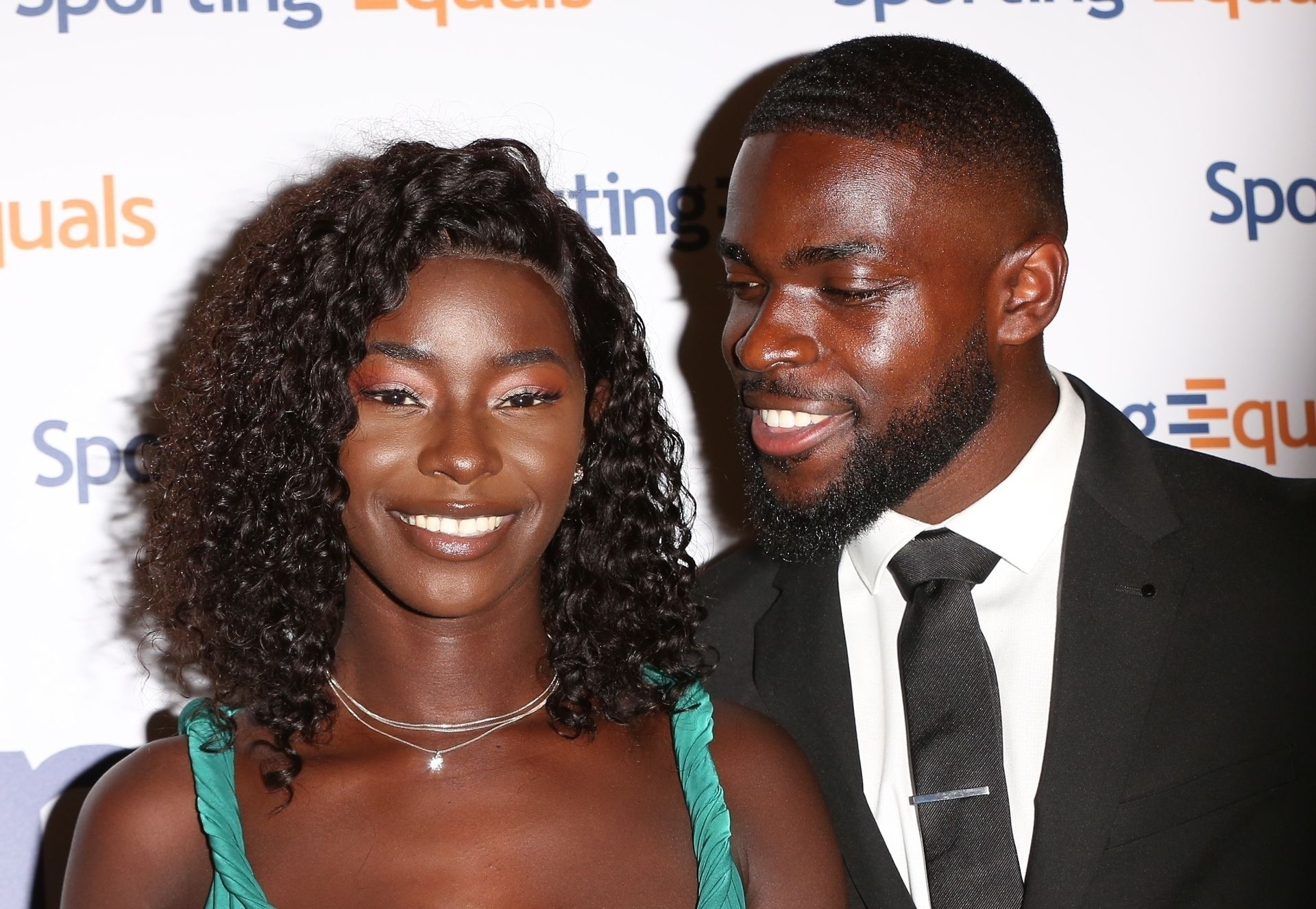 Mike Boateng & Priscilla Anyabu Are Seen At British Ethnic Diversity Sports Awards 0093