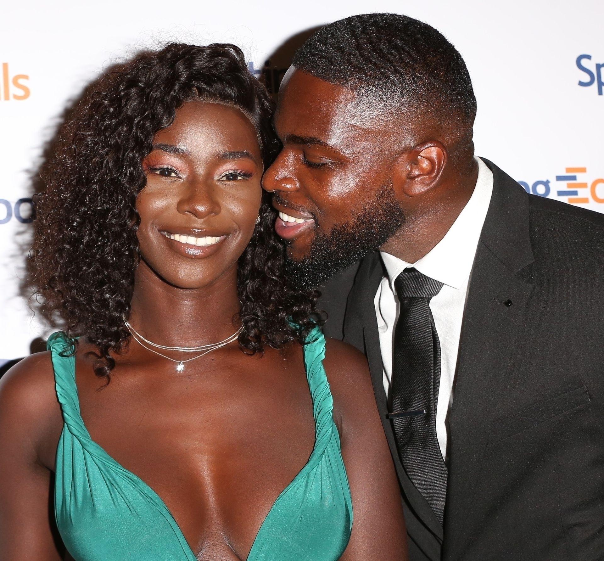 Mike Boateng & Priscilla Anyabu Are Seen At British Ethnic Diversity Sports Awards 0095