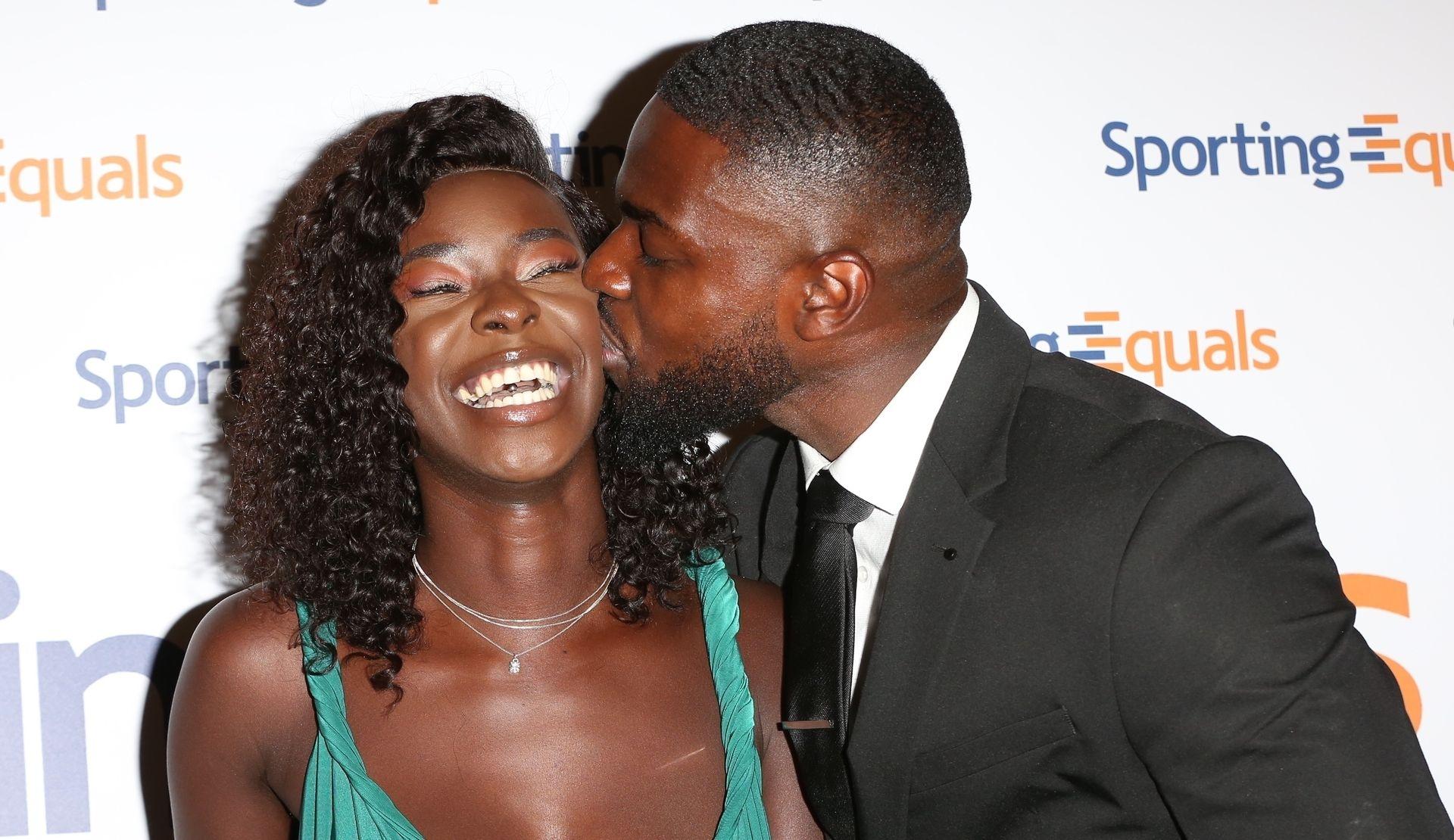 Mike Boateng & Priscilla Anyabu Are Seen At British Ethnic Diversity Sports Awards 0100