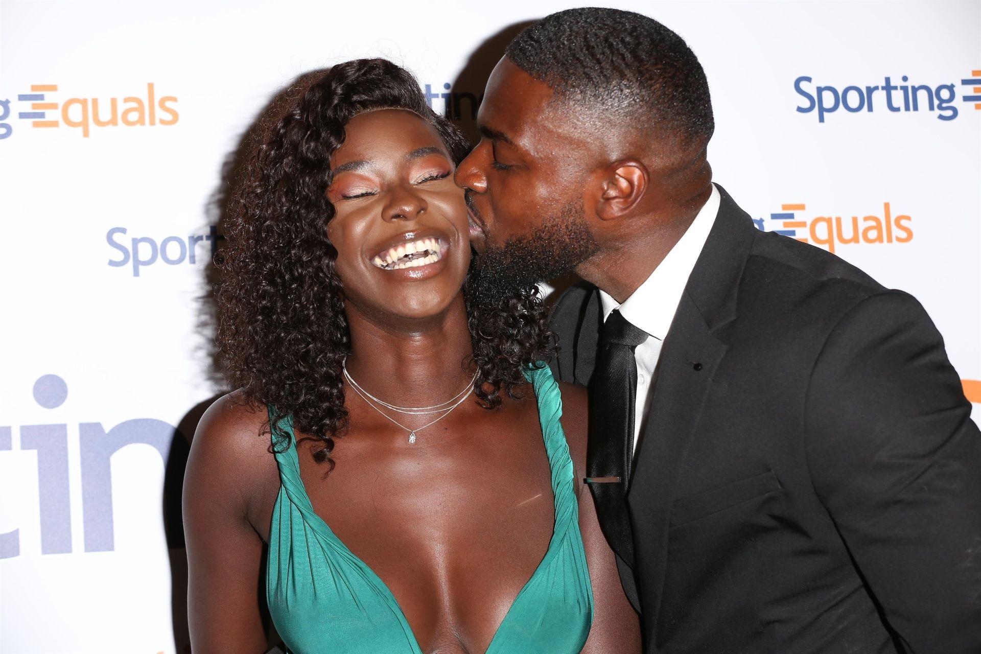 Mike Boateng & Priscilla Anyabu Are Seen At British Ethnic Diversity Sports Awards 0101