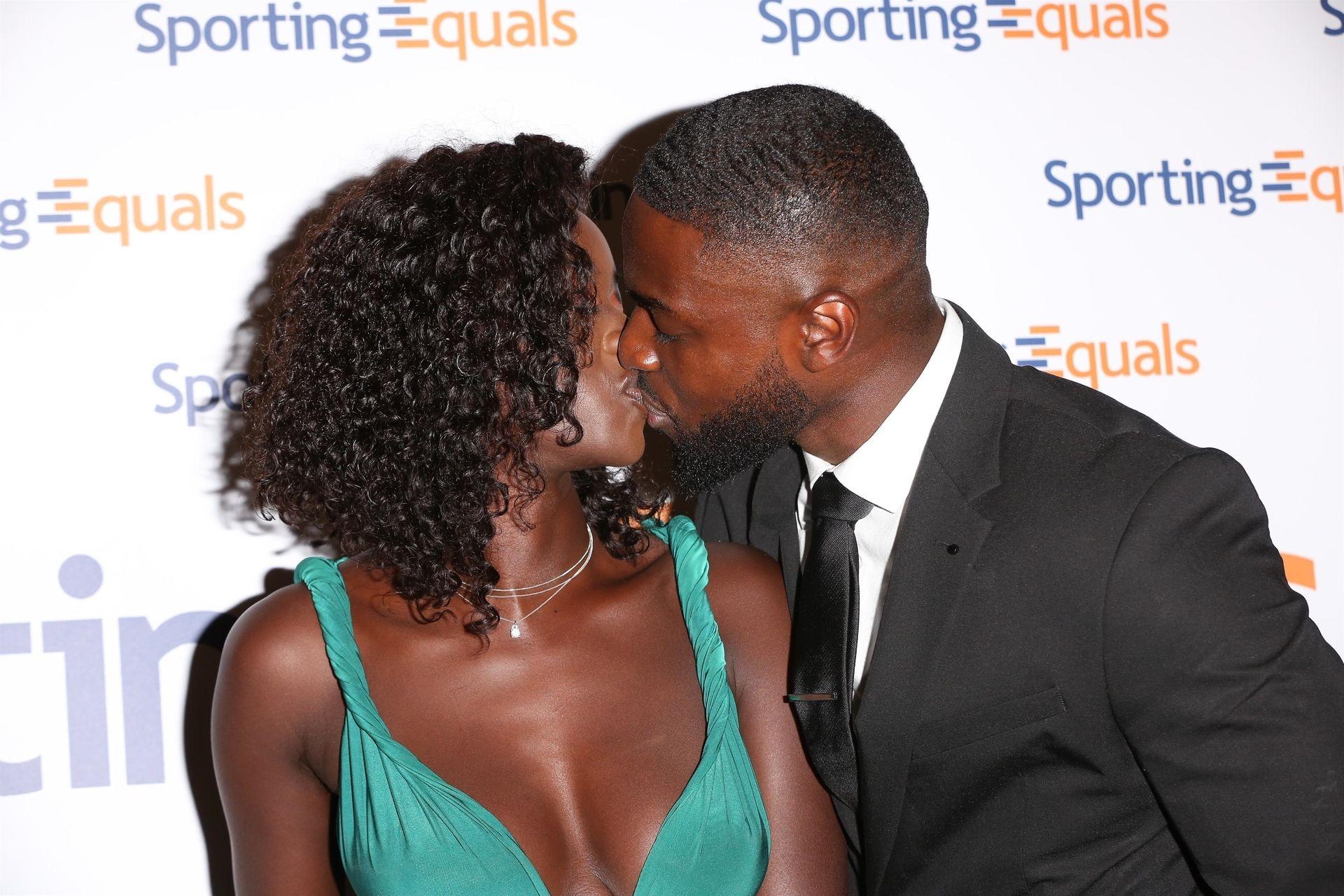 Mike Boateng & Priscilla Anyabu Are Seen At British Ethnic Diversity Sports Awards 0104