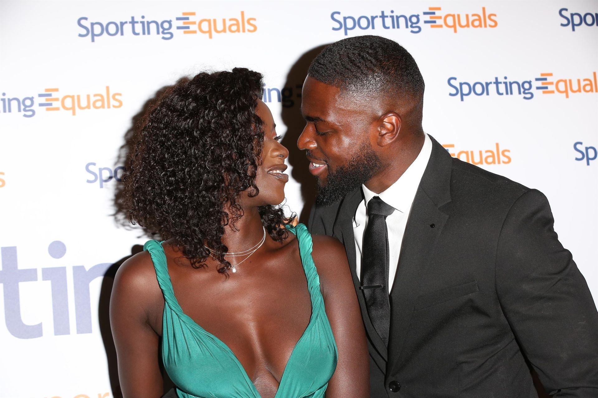 Mike Boateng & Priscilla Anyabu Are Seen At British Ethnic Diversity Sports Awards 0107