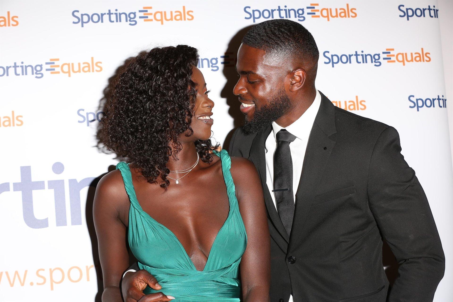 Mike Boateng & Priscilla Anyabu Are Seen At British Ethnic Diversity Sports Awards 0108
