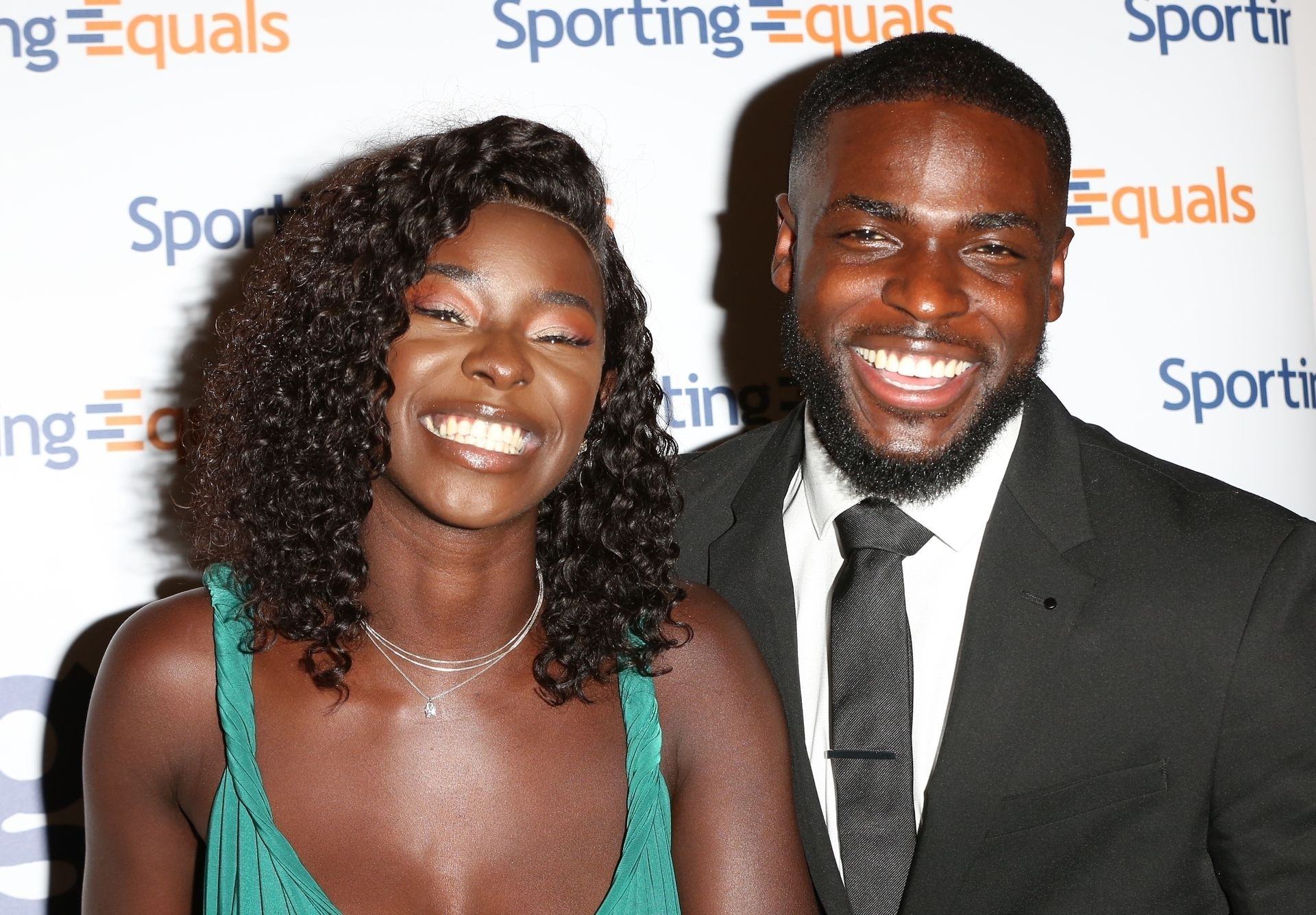 Mike Boateng & Priscilla Anyabu Are Seen At British Ethnic Diversity Sports Awards 0111