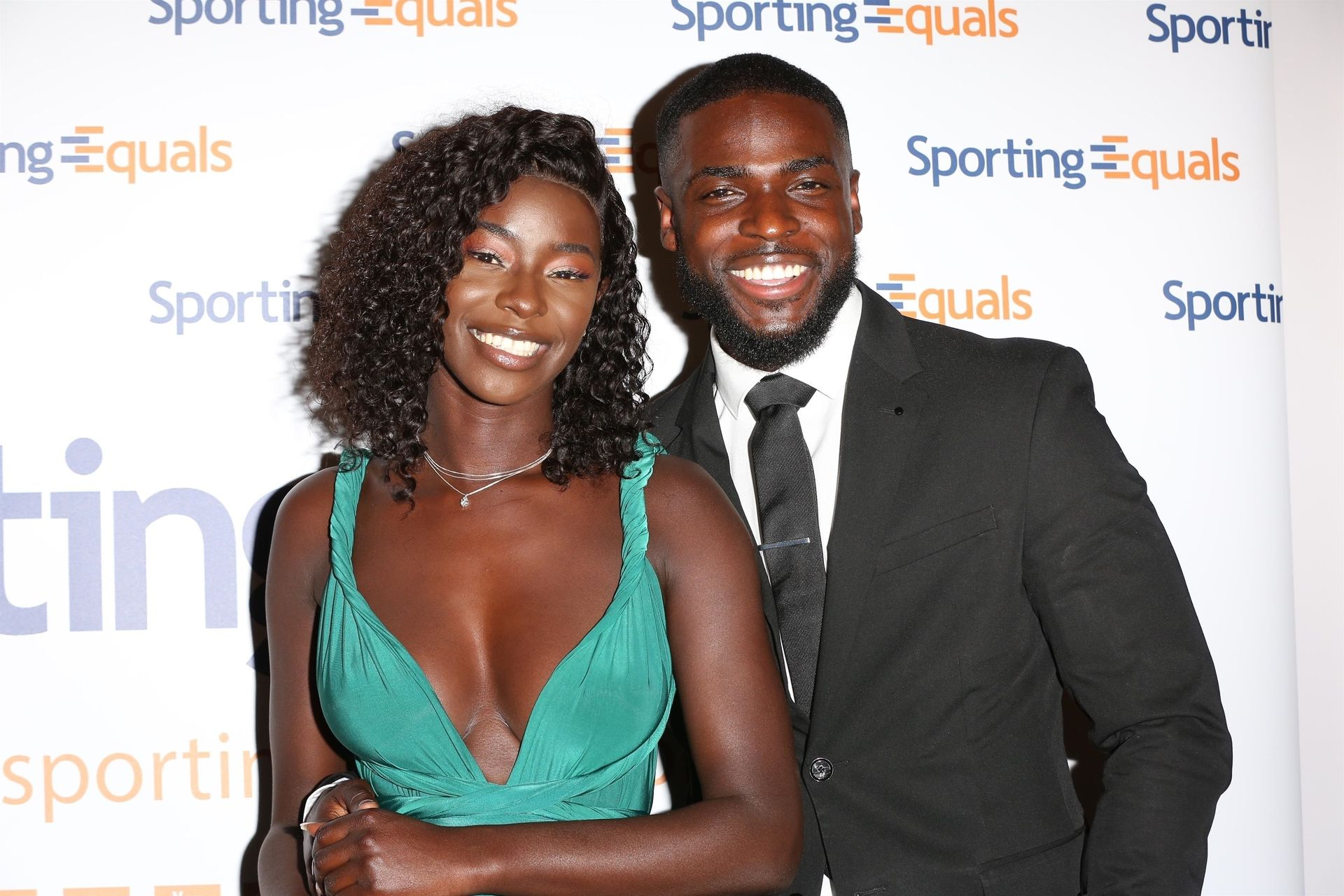 Mike Boateng & Priscilla Anyabu Are Seen At British Ethnic Diversity Sports Awards 0114